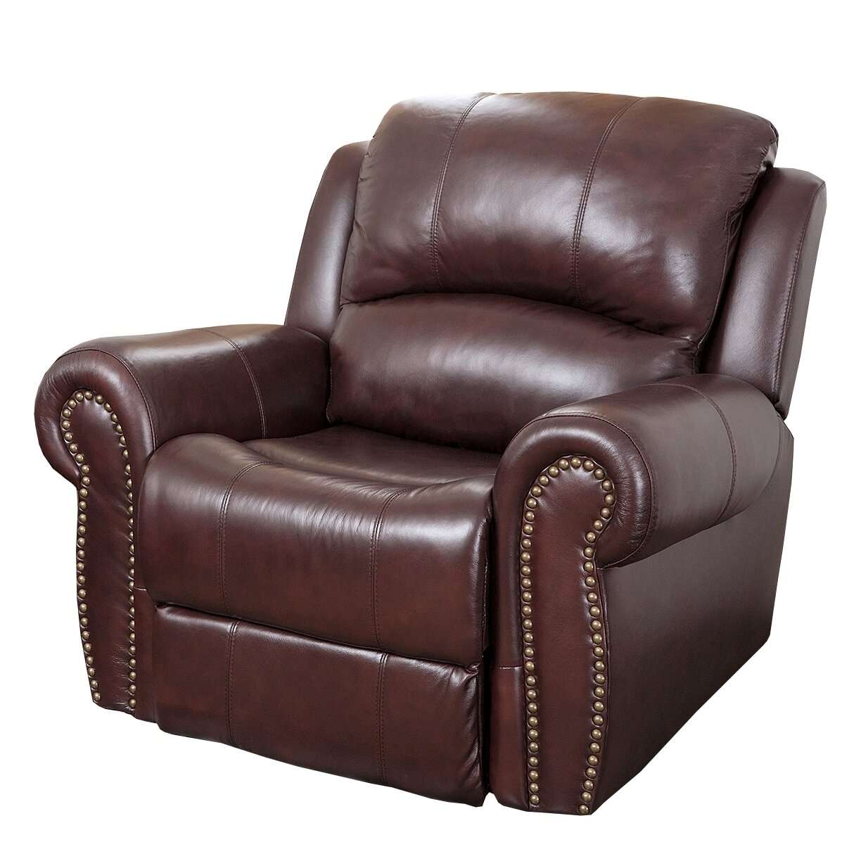 Abbyson Living Sedona Leather Chaise Recliner Amp Reviews