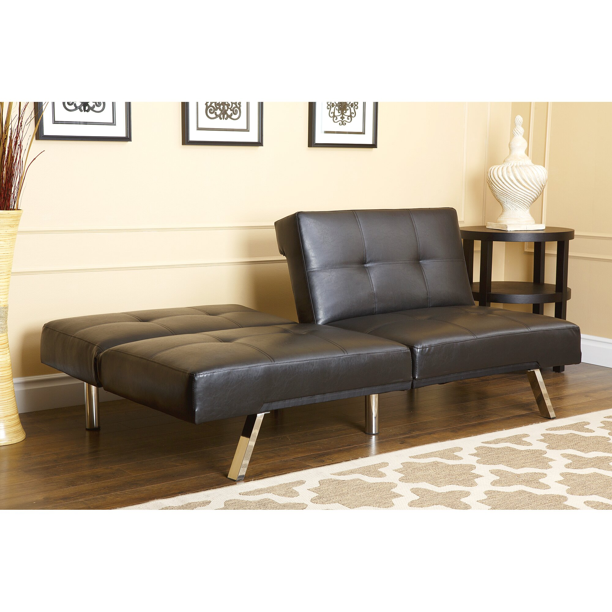 Abbyson Living Aspen Convertible Sleeper Sofa Reviews Wayfair