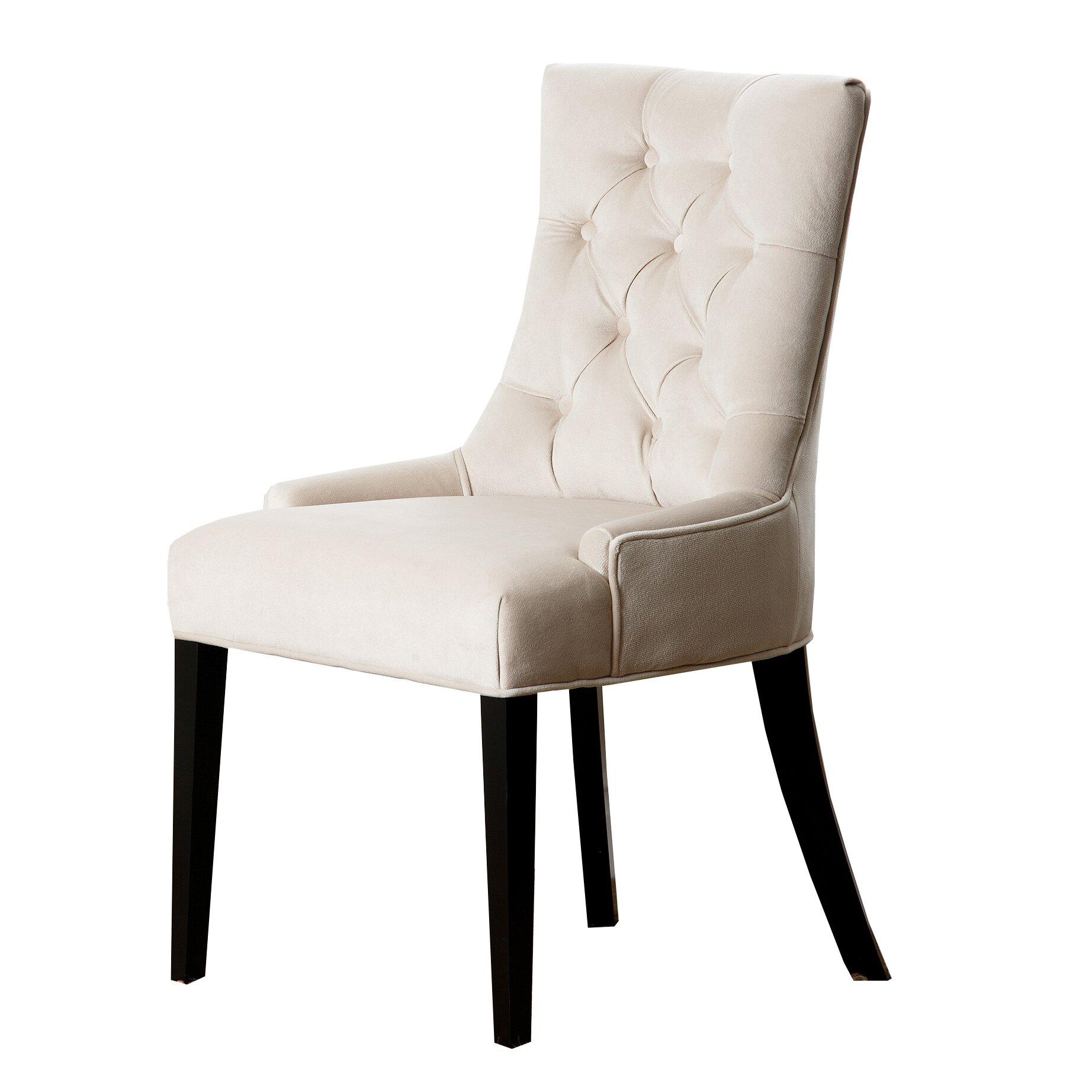 Abbyson Living Franklin Side Chair Reviews Wayfair