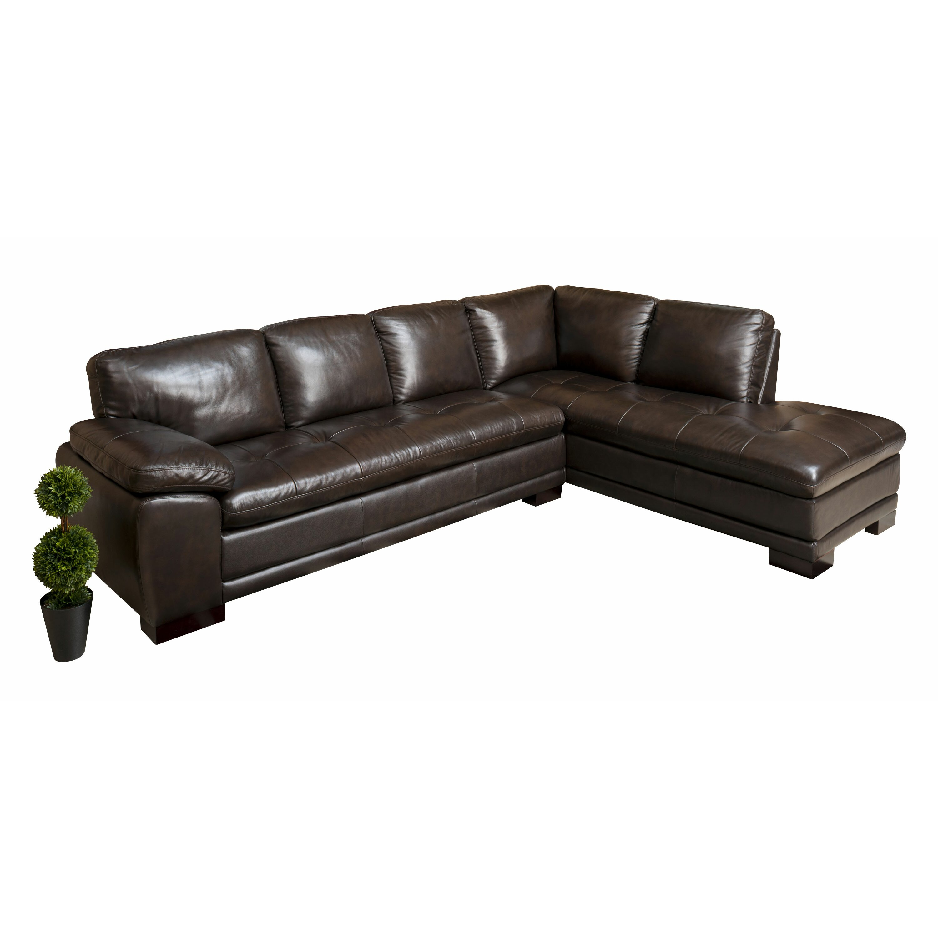 abbyson living tivoli sectional reviews wayfair
