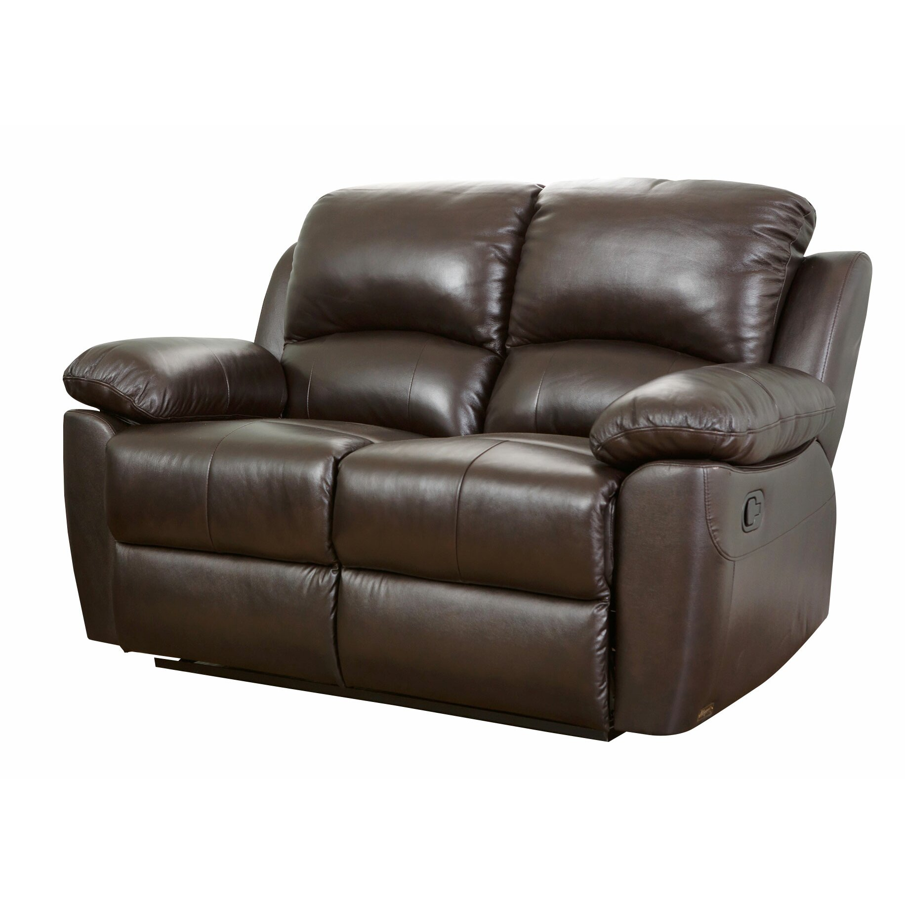 Abbyson living westwood leather reclining loveseat reviews Leather reclining loveseat