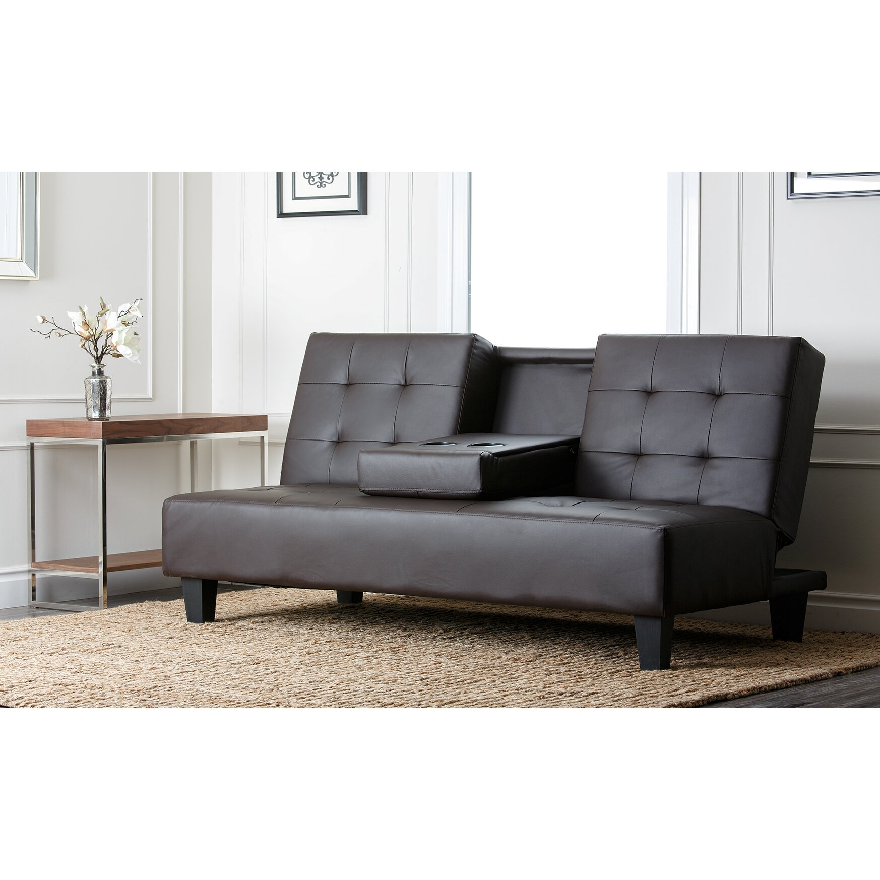 Abbyson Living Bedford Sleeper Sofa Reviews Wayfair