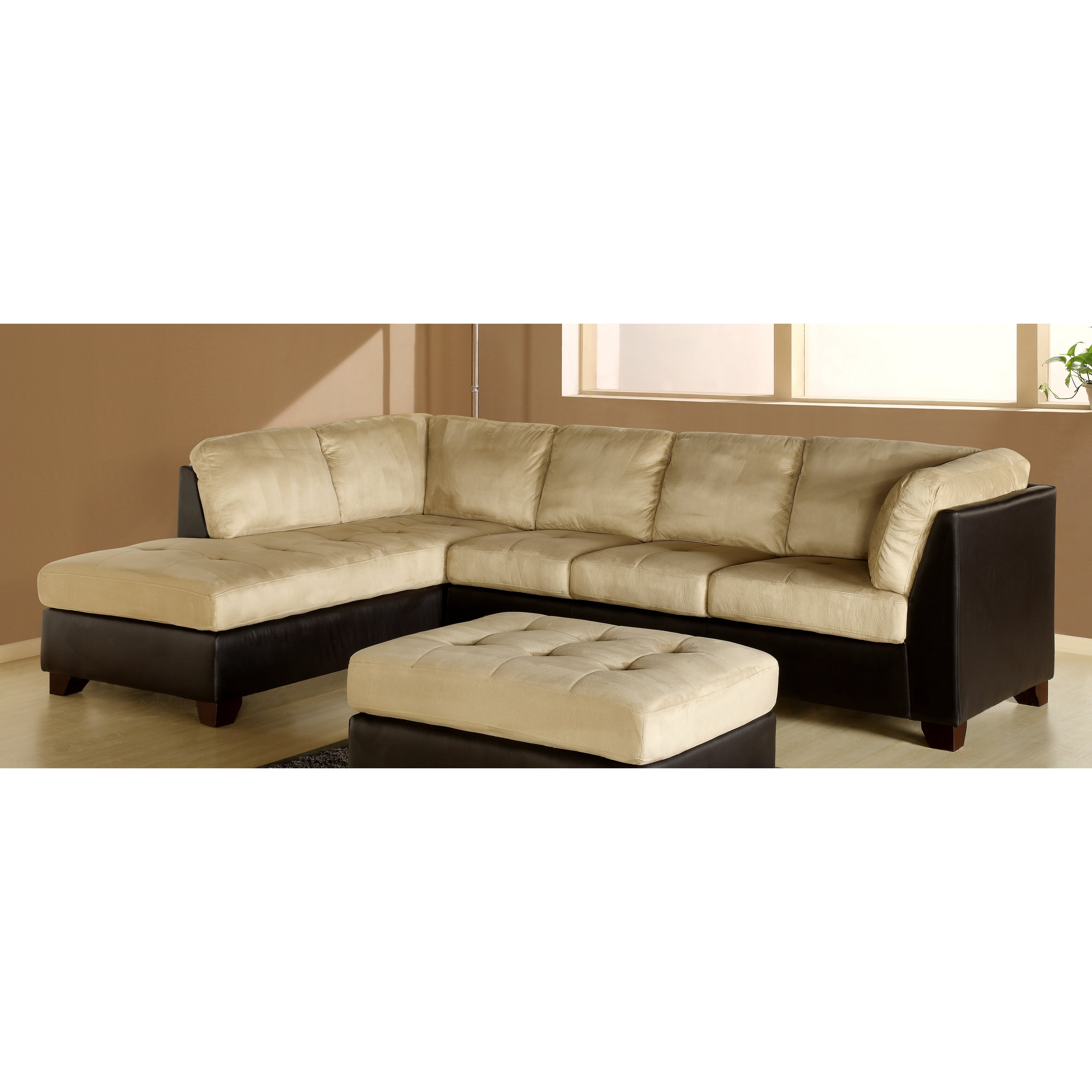 Abbyson Living Charleston Sectional Reviews Wayfair
