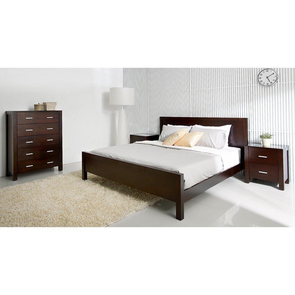 Abbyson Living Azara Platform Bed Amp Reviews Wayfair