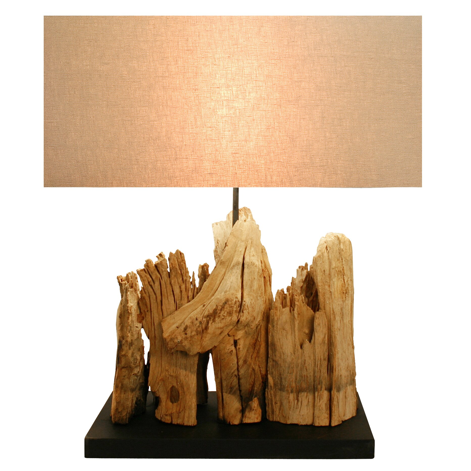 Bellini modern living table lamp reviews wayfair for Fabriquer suspension bois flotte