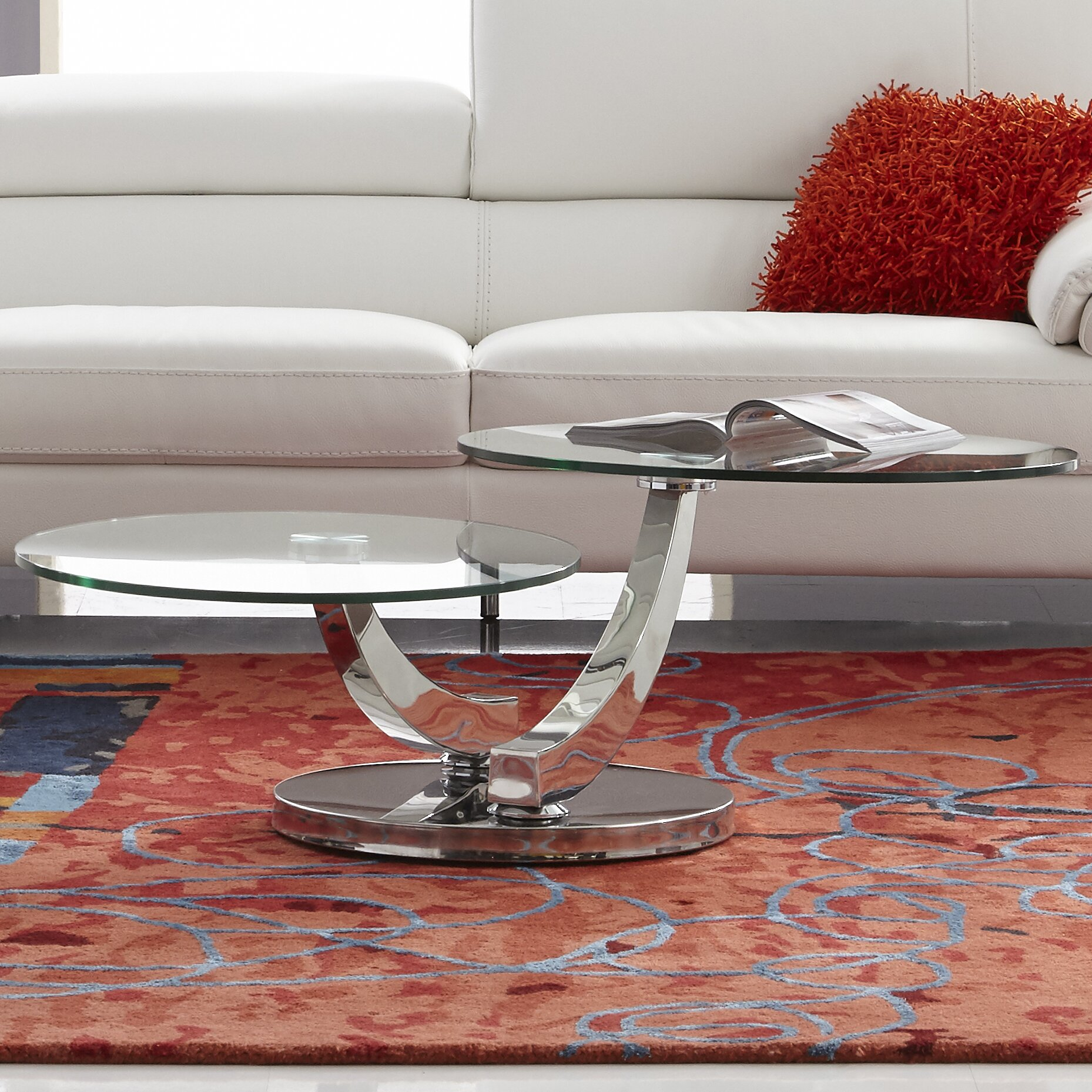 Bellini modern living allure coffee table reviews wayfair for Allure coffee table