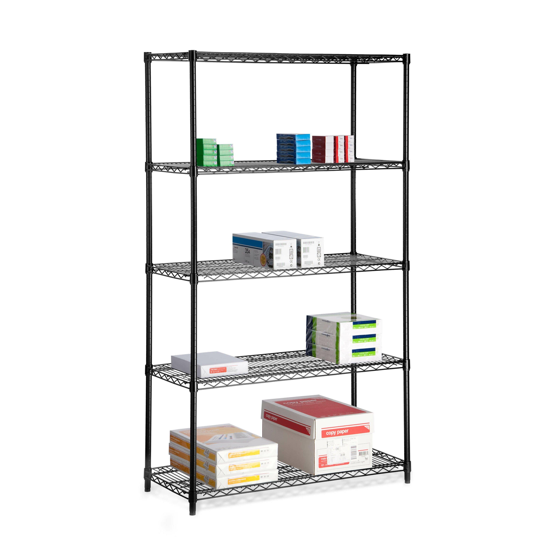 honey can do 72 h 5 shelf shelving unit reviews wayfair. Black Bedroom Furniture Sets. Home Design Ideas