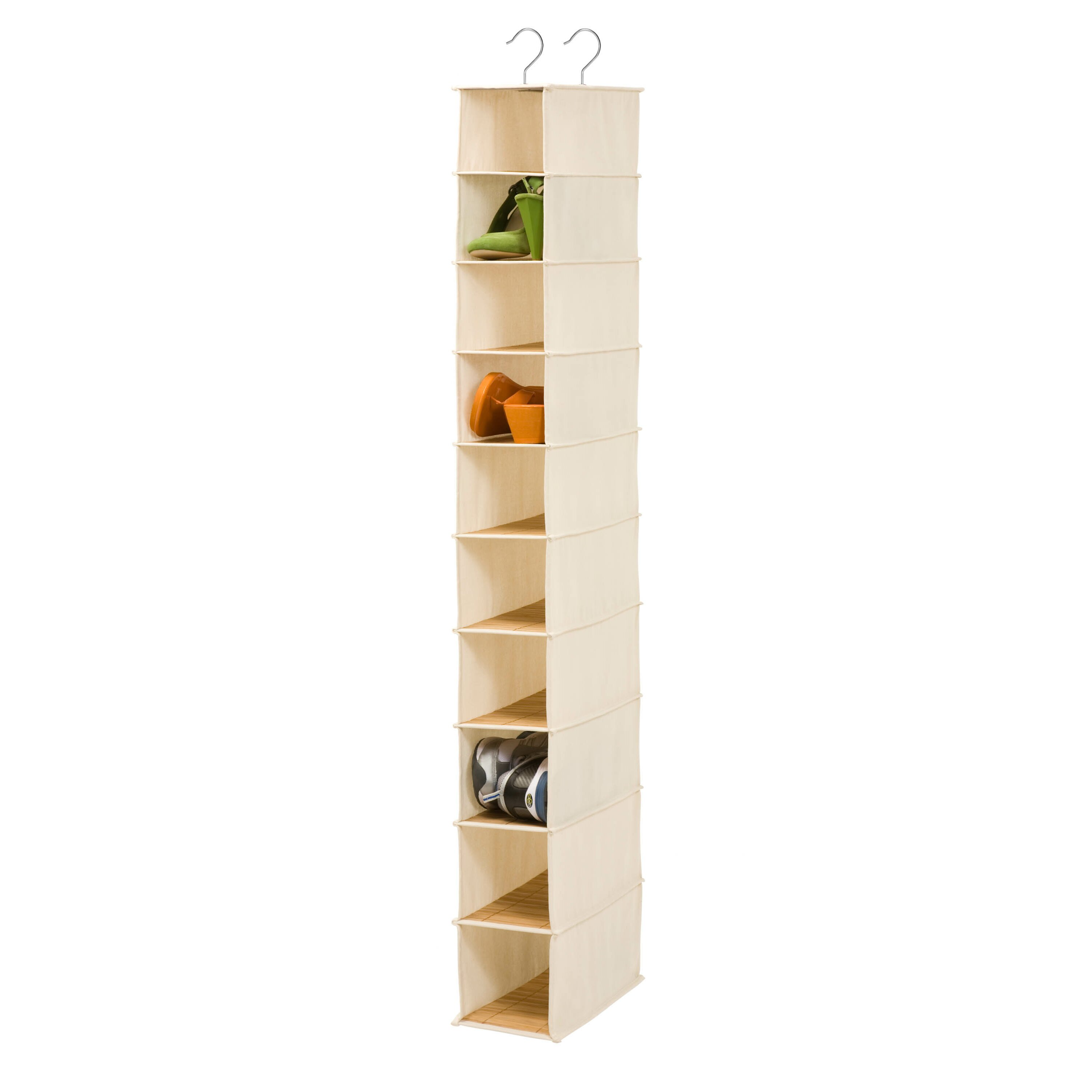 Honey Can Do 10 Compartment Hanging Shoe Organizer