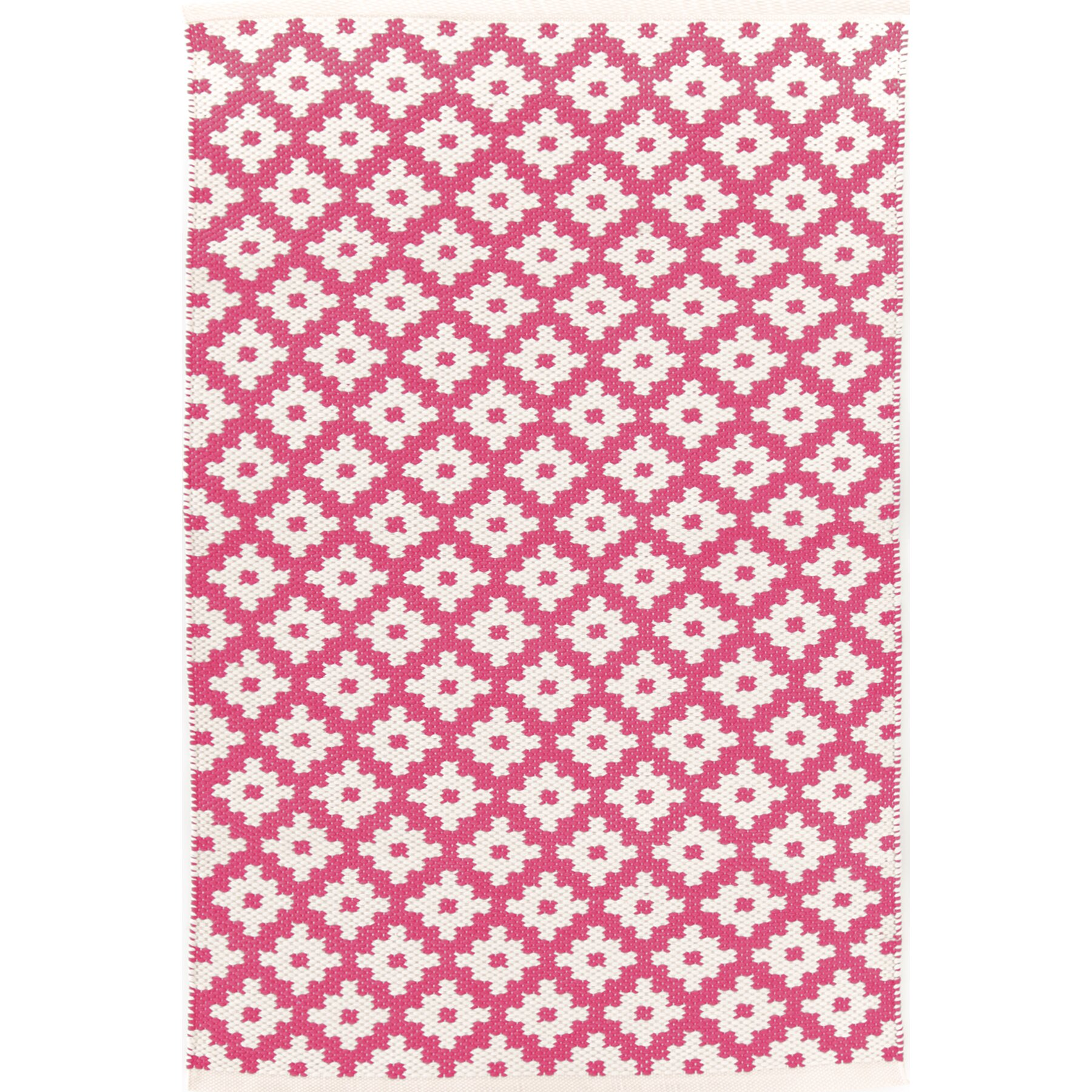 dash and albert rugs samode hand woven pink indoor outdoor area rug reviews wayfair. Black Bedroom Furniture Sets. Home Design Ideas