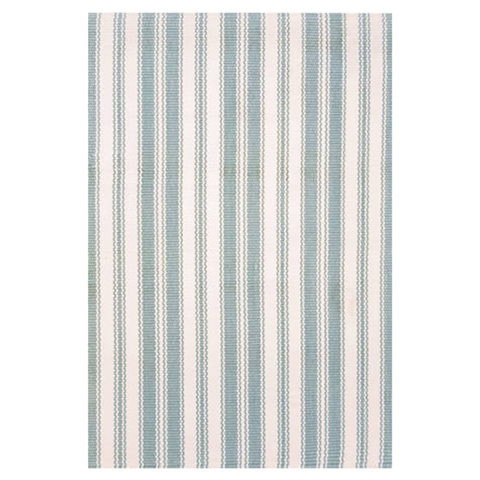 dash and albert rugs hand woven blue ivory indoor outdoor. Black Bedroom Furniture Sets. Home Design Ideas