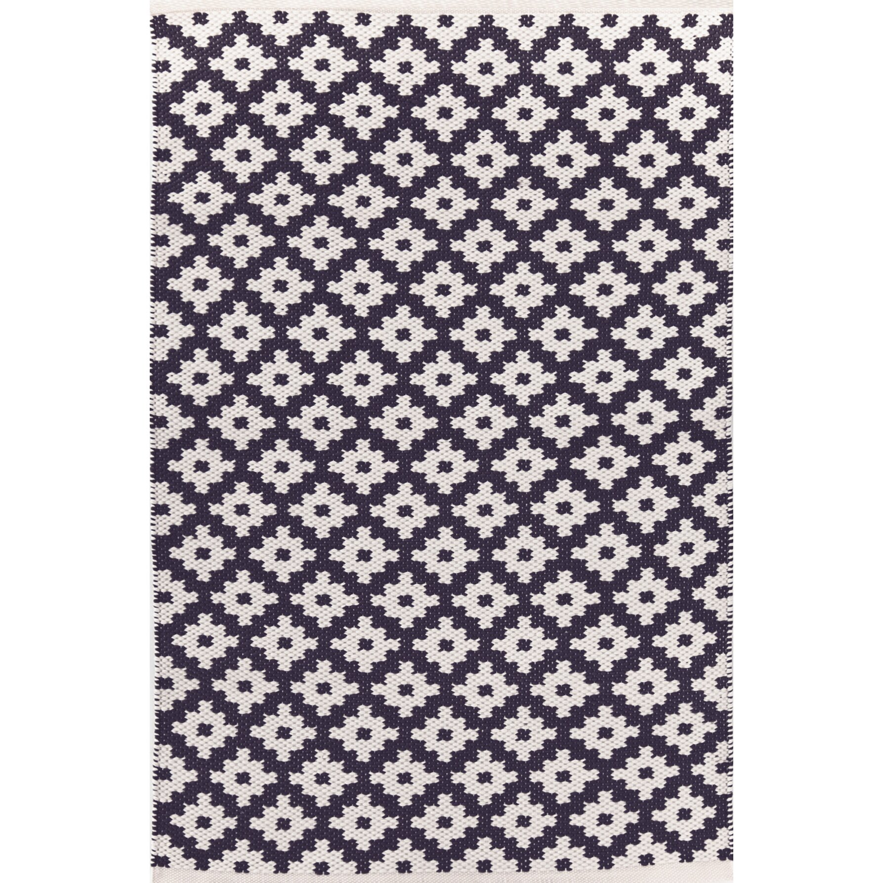 dash and albert rugs samode hand woven blue white indoor outdoor area rug reviews wayfair. Black Bedroom Furniture Sets. Home Design Ideas