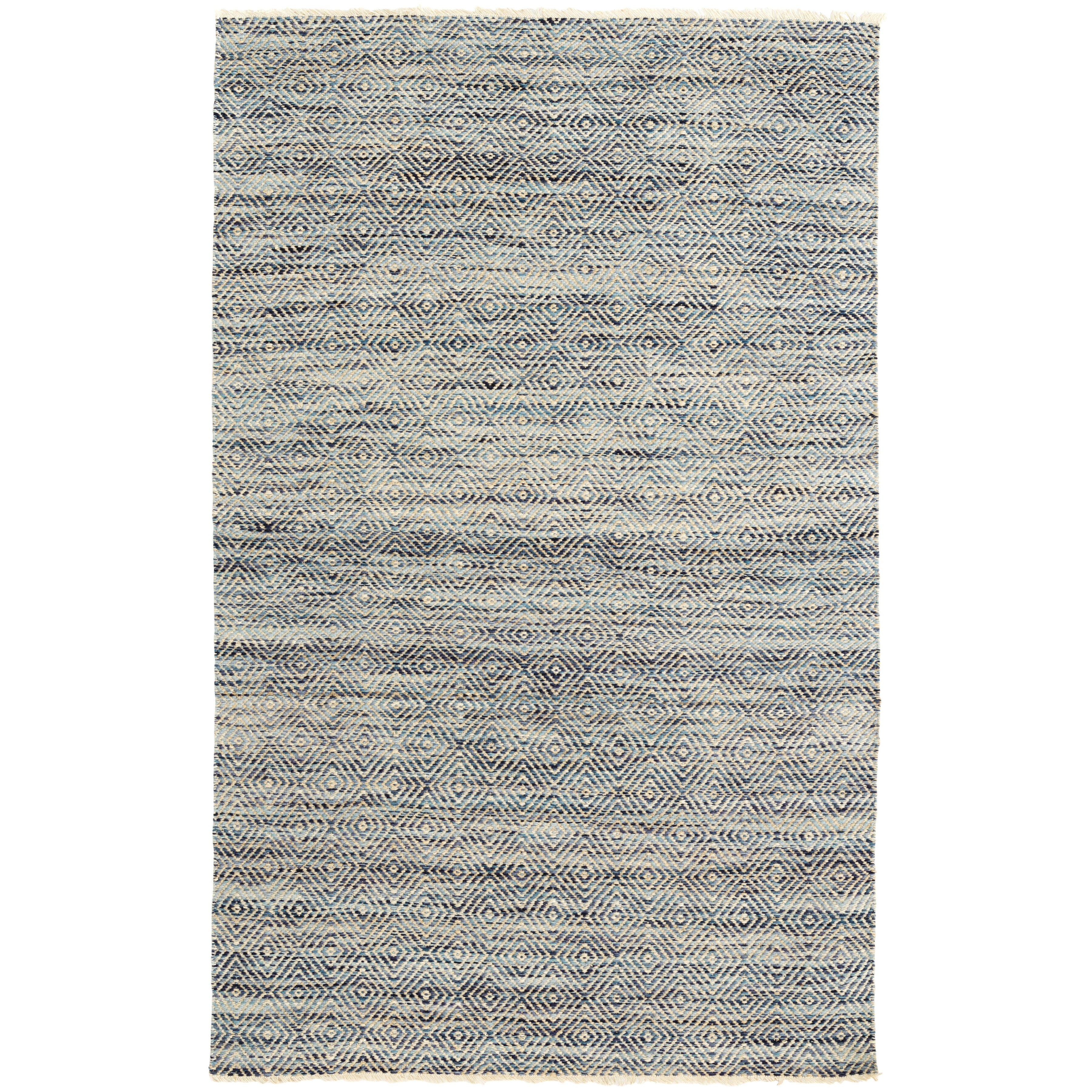 Dash and albert rugs jewel gray area rug reviews wayfair for Dash and albert wool rugs