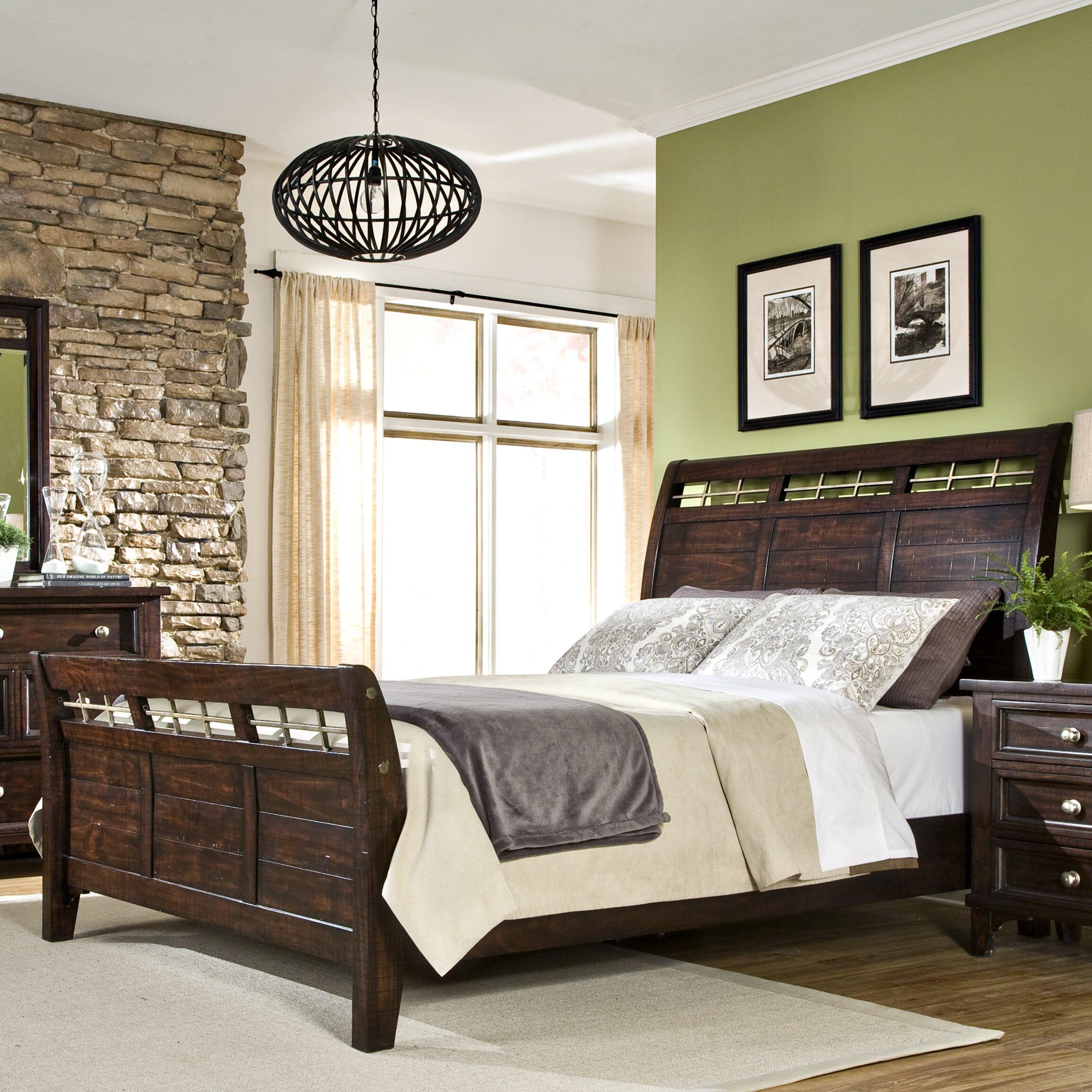 Imagio Home Haven Sleigh Customizable Bedroom Set Reviews Wayfair
