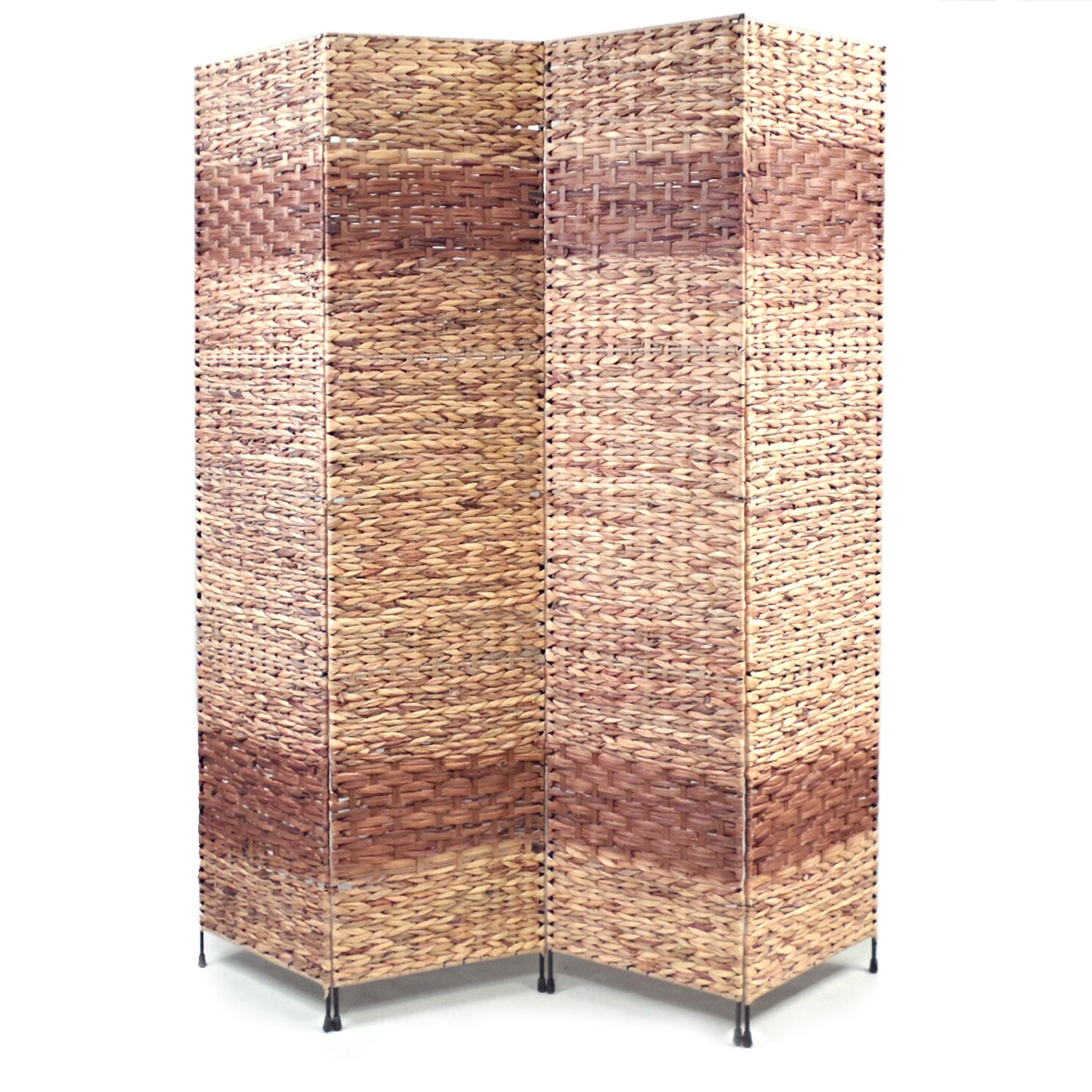 Proman 67 x 60 jakarta b folding screen 4 panel room for Four panel room divider screen
