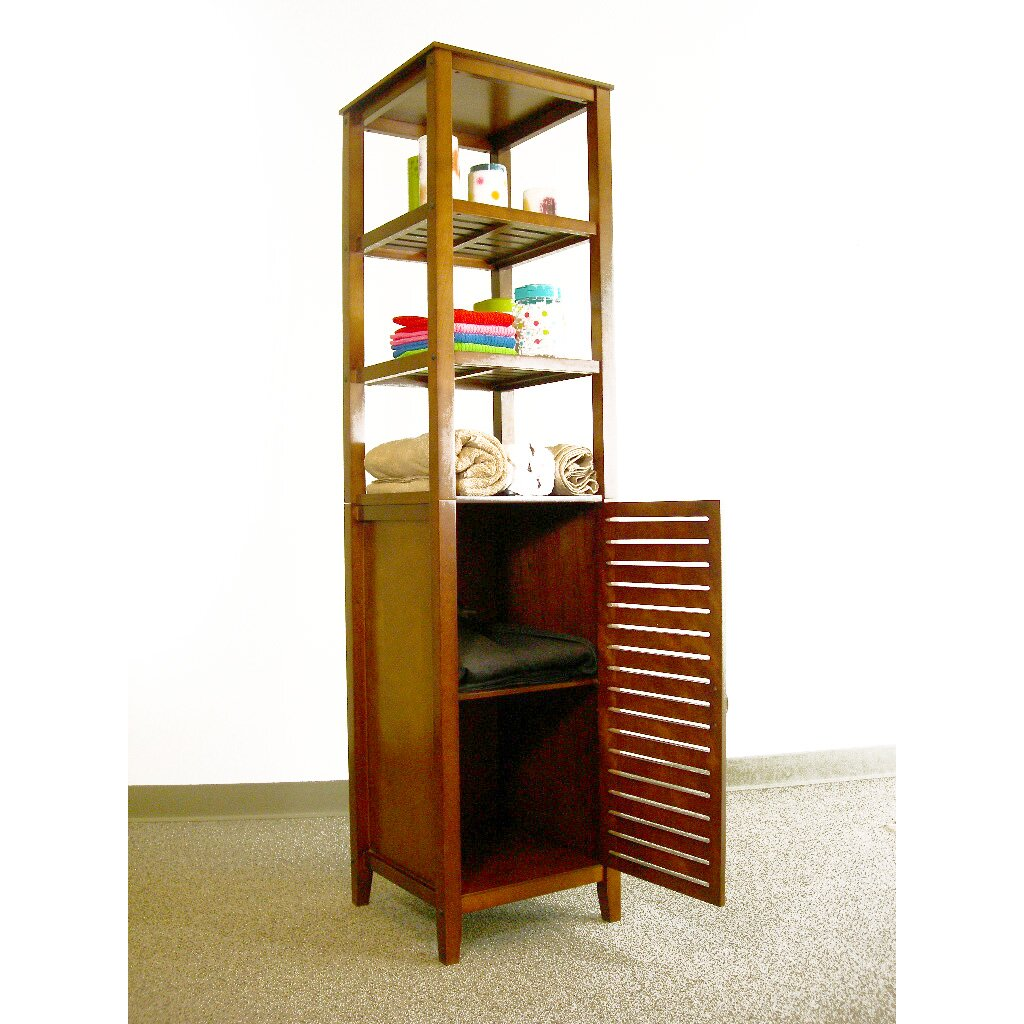 Proman 16 5 x free standing linen tower reviews - Free standing linen cabinets for bathroom ...