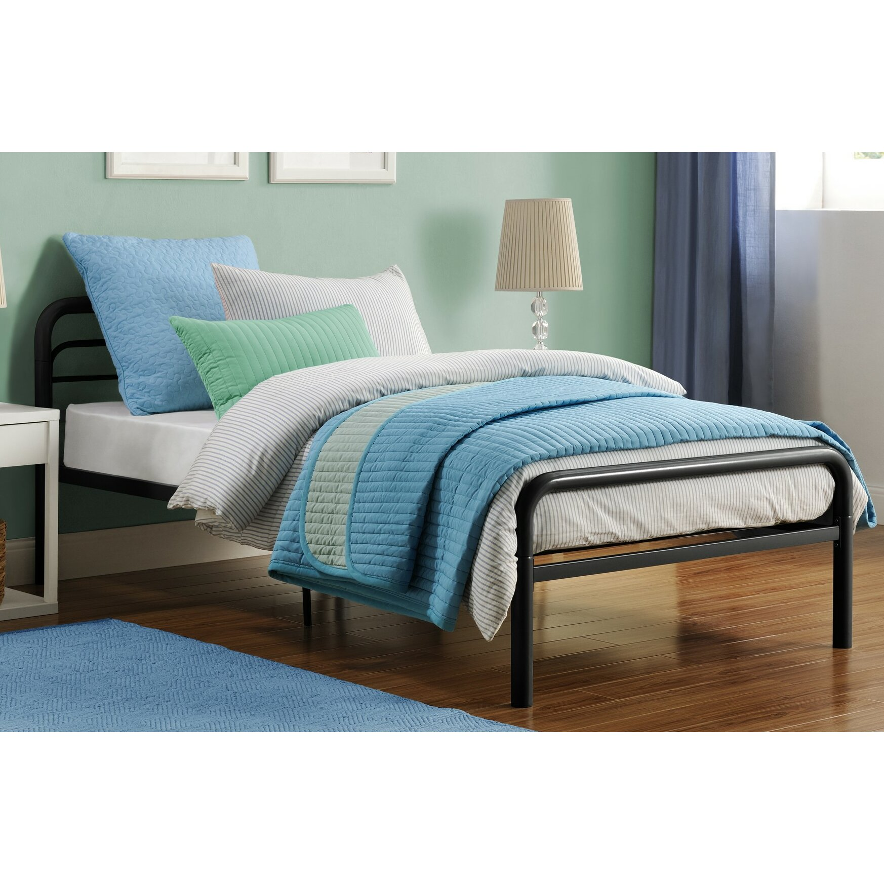 DHP Twin Platform Bed Reviews Wayfair