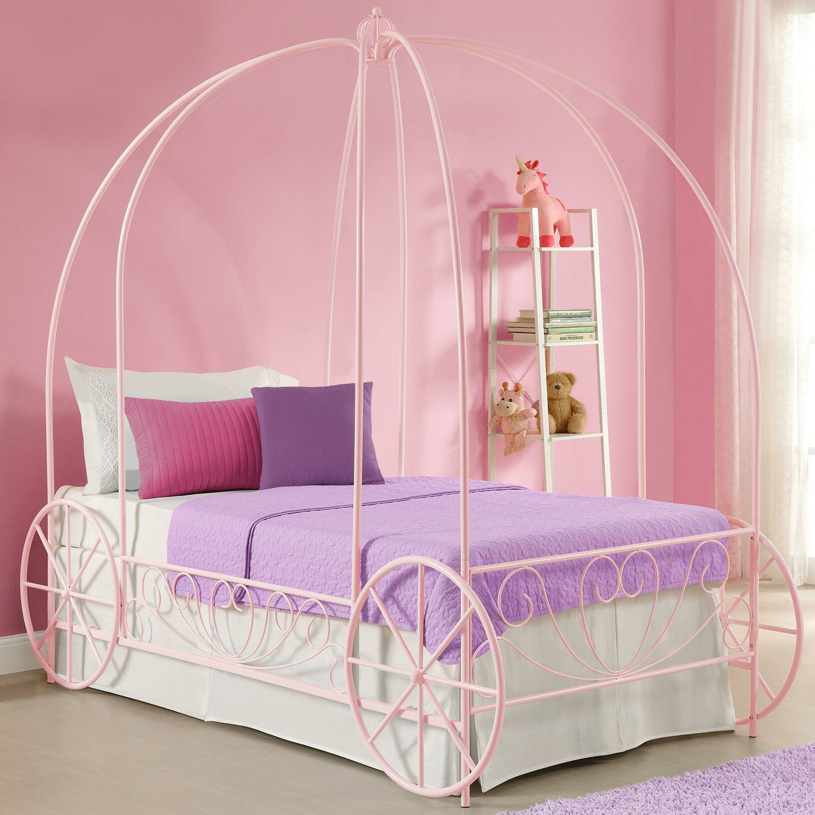 canopy beds for twin - photo #22