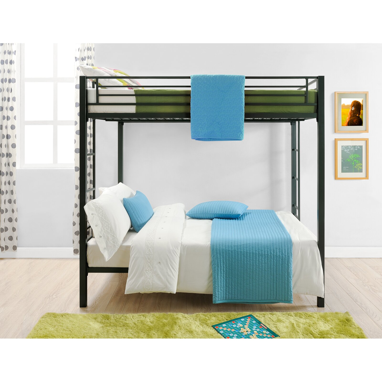 Dhp Full Over Full Bunk Bed Reviews Wayfair