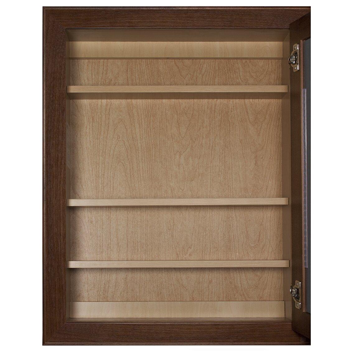 Coastal Collection Bostonian Series 24 X 30 Beveled Edge Medicine Cabinet Reviews Wayfair