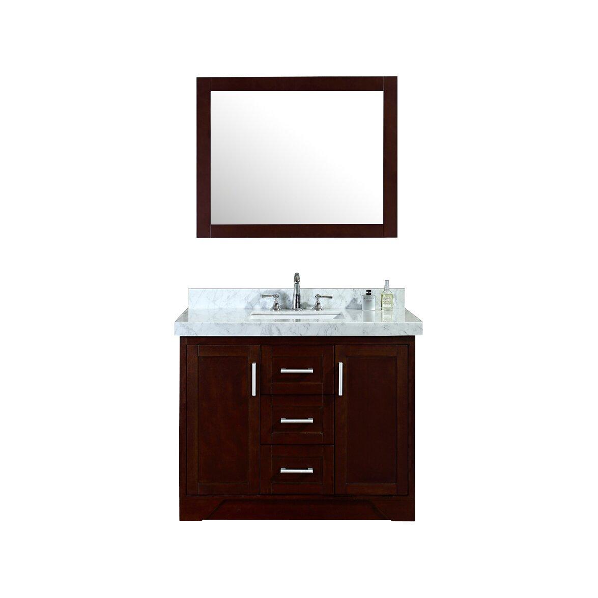 Ariel Bath Ashbury 42 Single Bathroom Vanity Set With