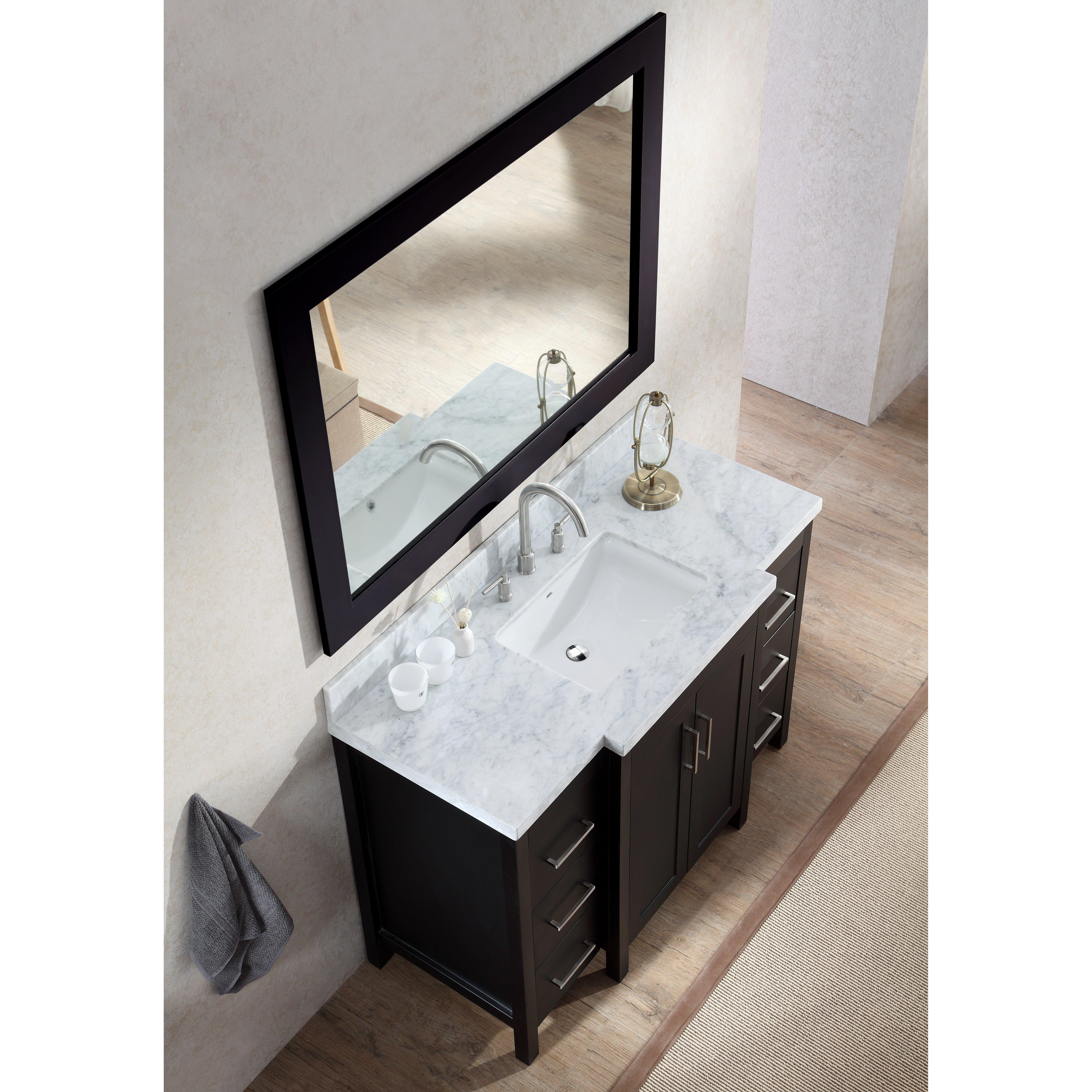 Ariel Bath Hollandale 49 Single Sink Vanity Set With