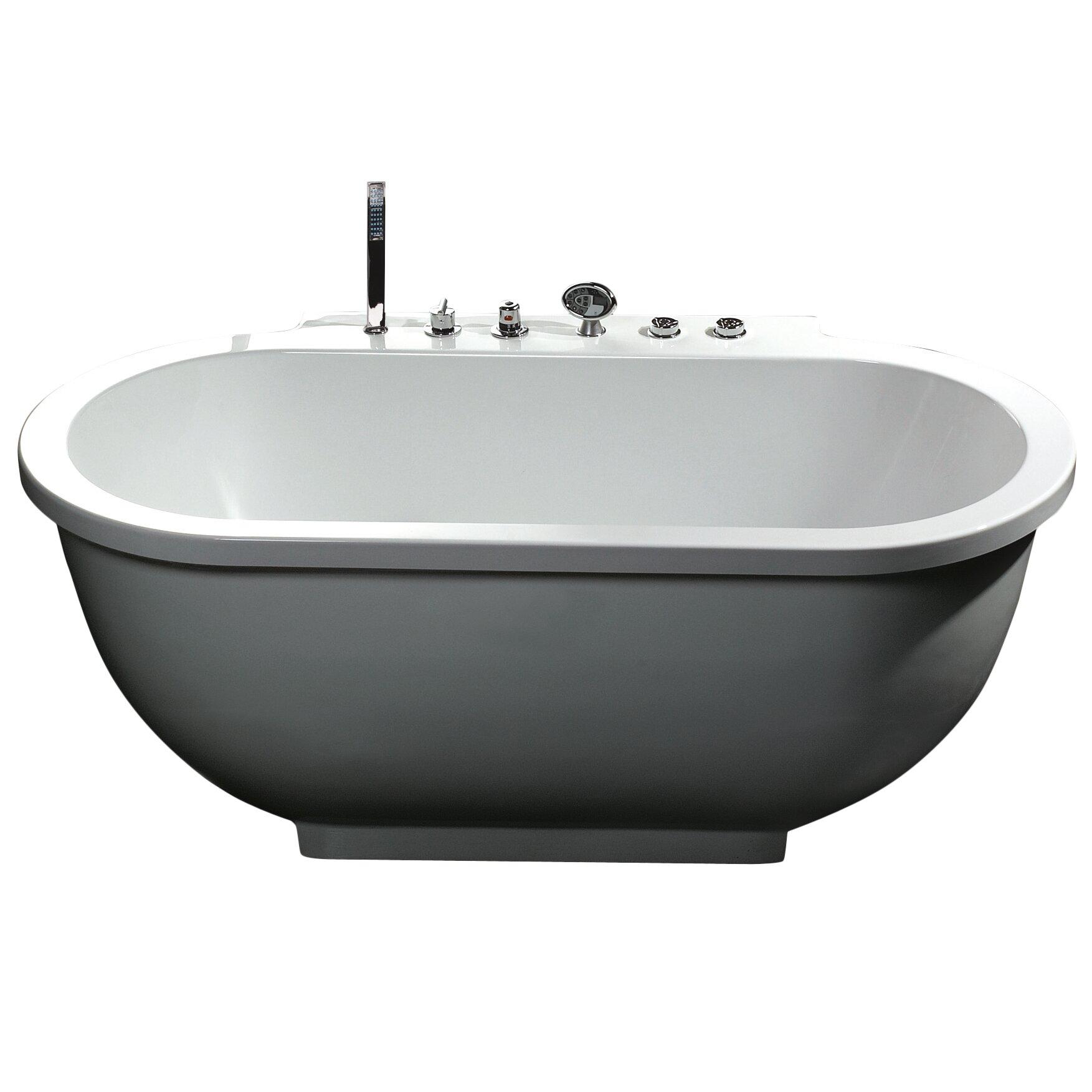 Ariel Bath 71 X 37 Whirlpool Bathtub Reviews Wayfair