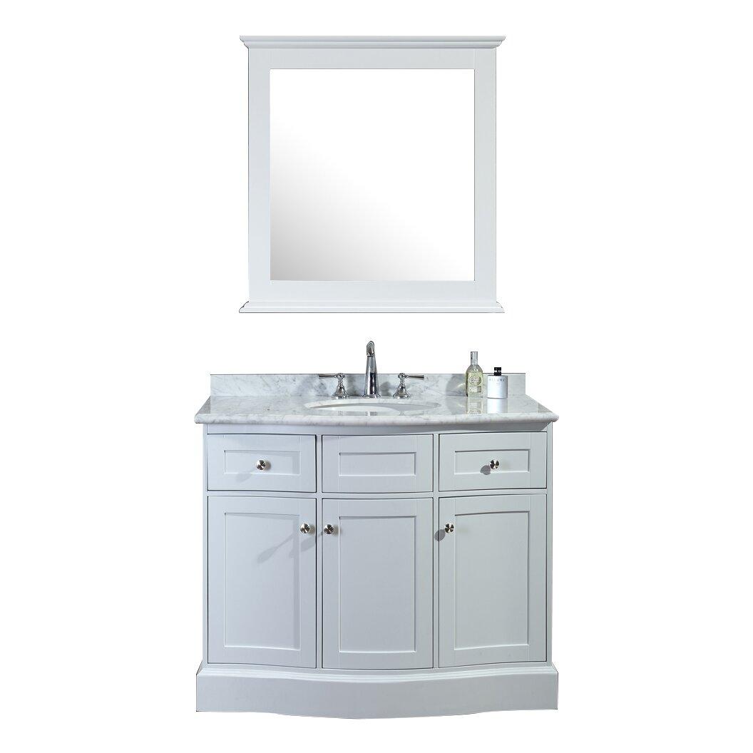 Ariel Bath Montauk 42 Single Bathroom Vanity Set With