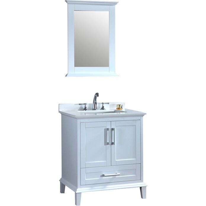 Ariel Bath Nantucket 30 Quot Single Sink Bathroom Vanity Set