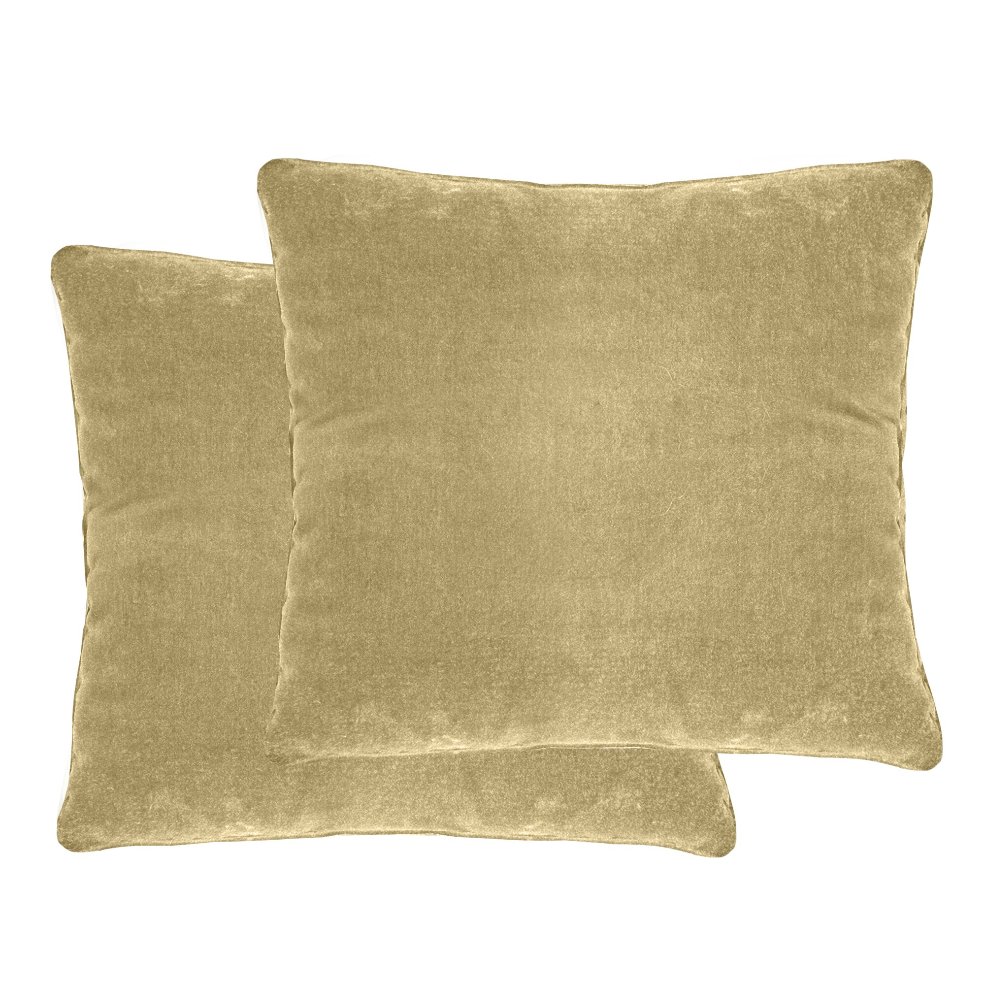 Veratex Luxury Velvet Throw Pillow & Reviews Wayfair