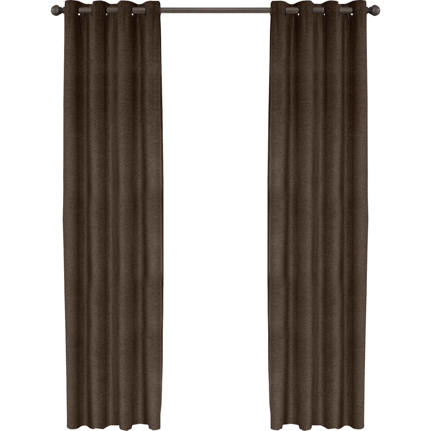 veratex chenille luxe curtain panel wayfair