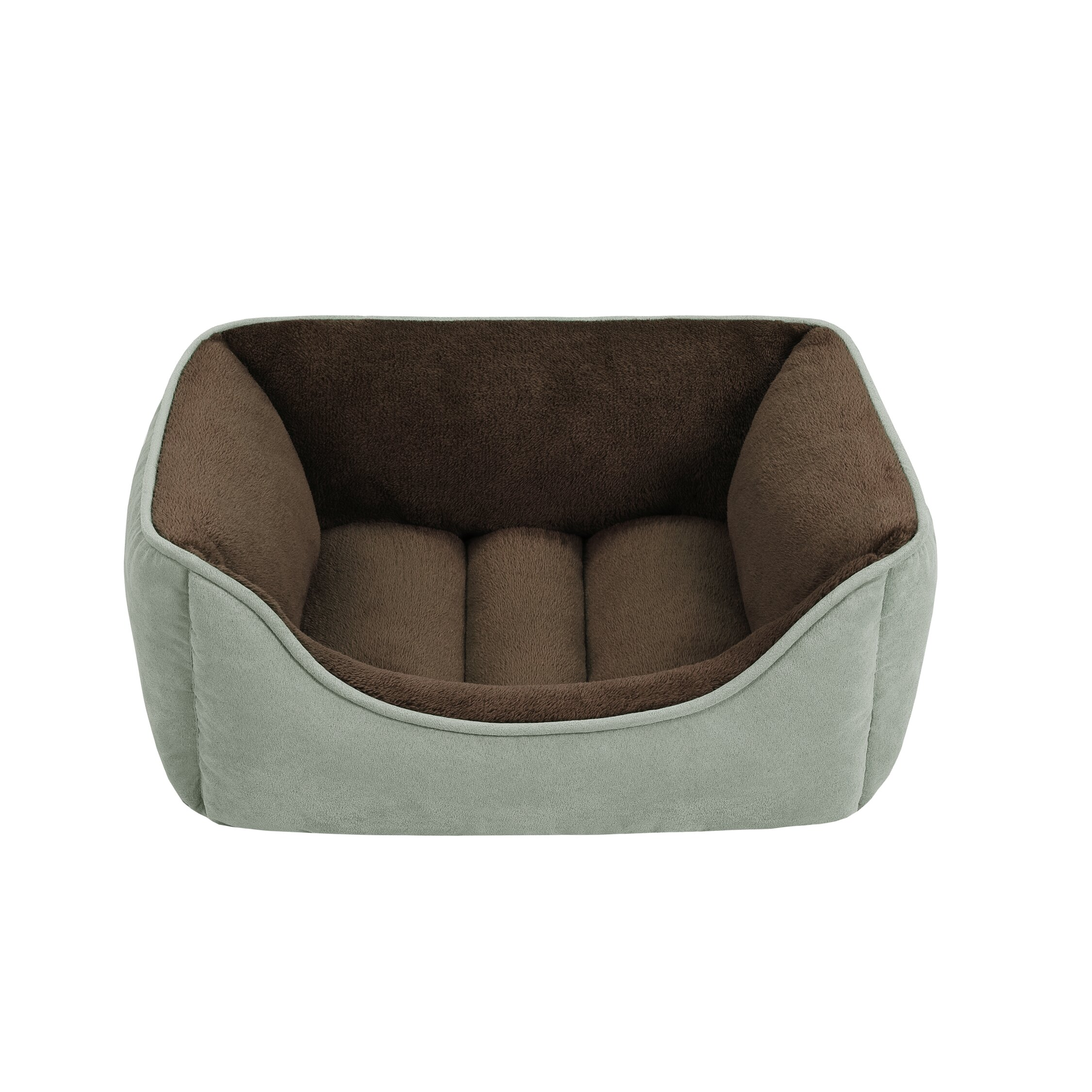 Soft Touch Faux Suede Reversible Rectangular Cuddler  : Soft Touch Faux Suede Reversible Rectangular Cuddler Bolster Dog Bed from www.wayfair.com size 2250 x 2250 jpeg 646kB