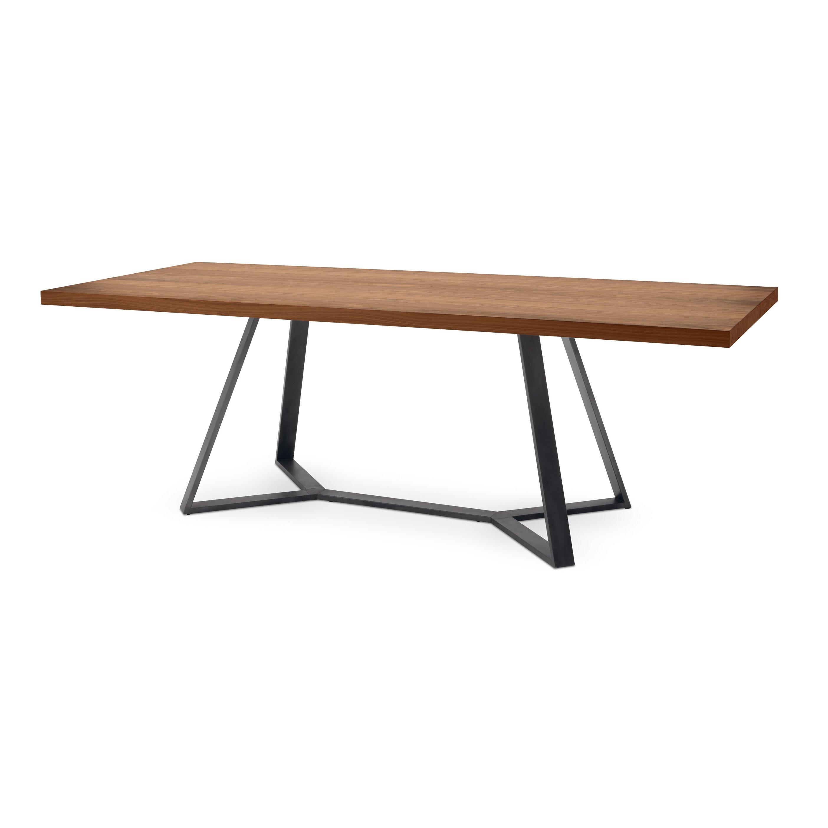 Domitalia archie l 240 dining table reviews wayfair for Wayfair dining tables