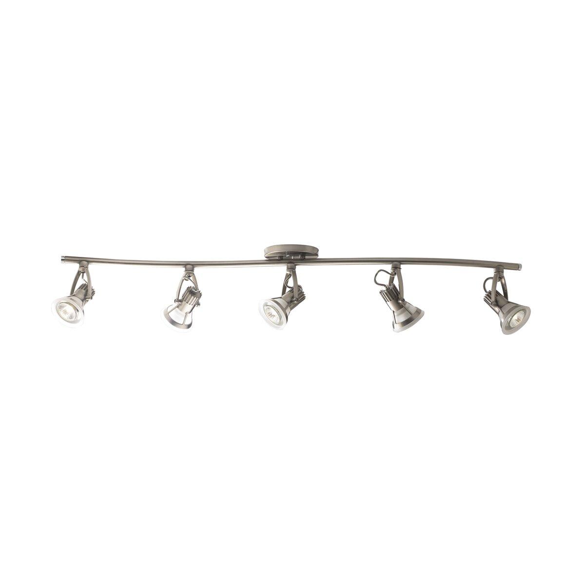 eurofase vortex 5 light full track lighting kit reviews wayfair. Black Bedroom Furniture Sets. Home Design Ideas