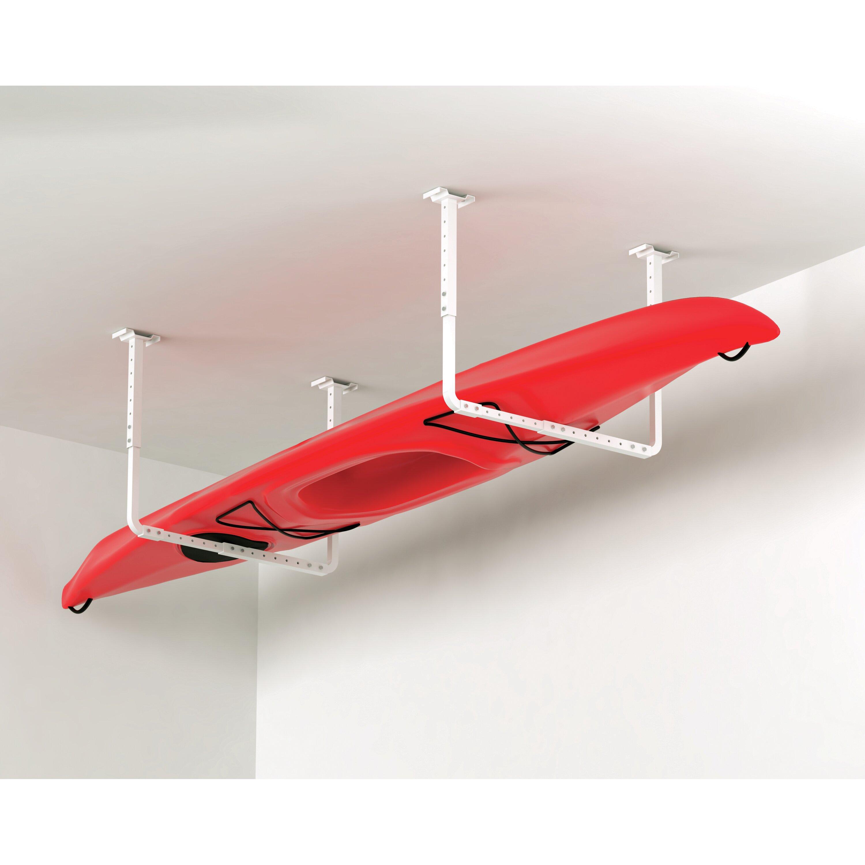 Hyloft Adjustable Ceiling Storage Kit In White & Reviews