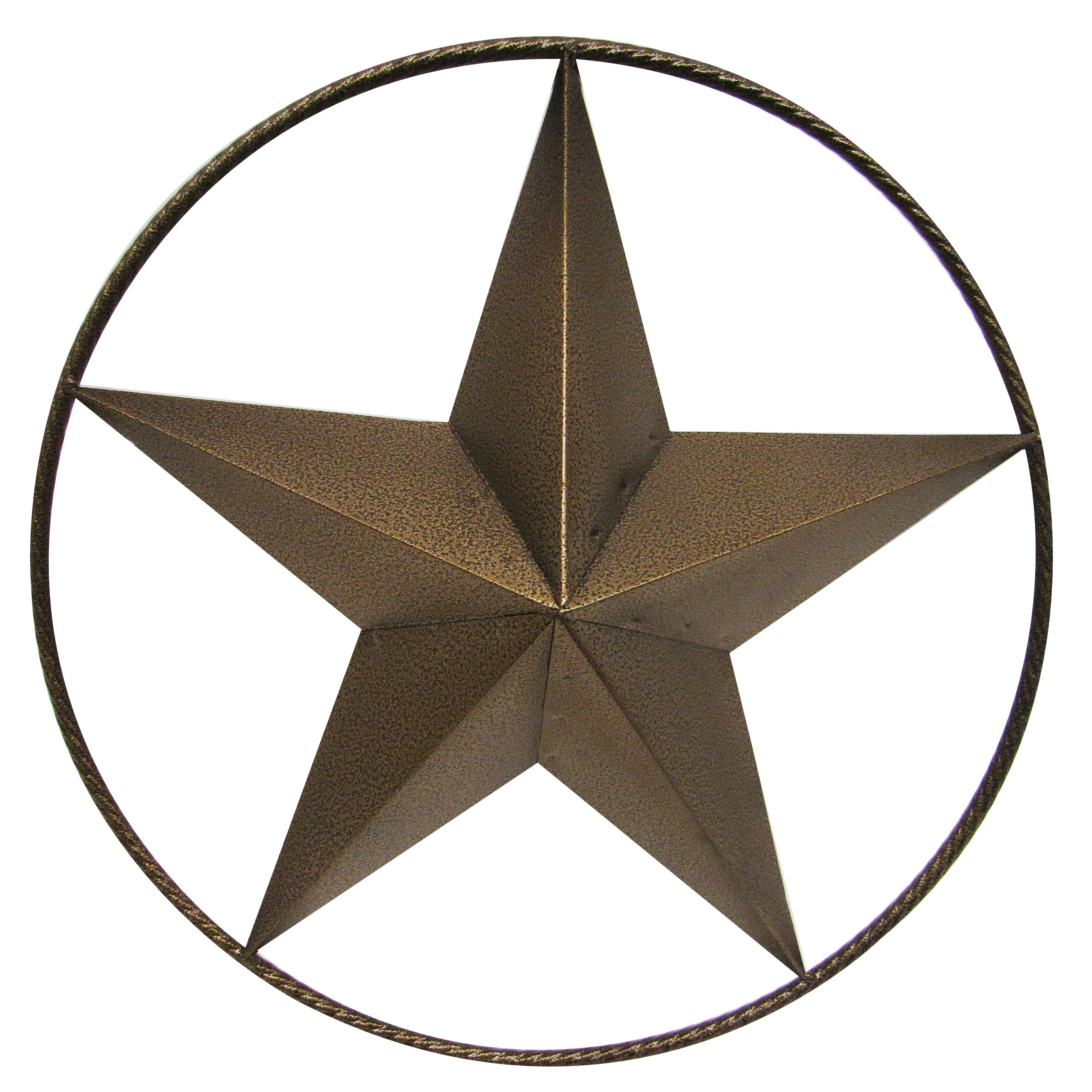 Glass Star Wall Decor : Leighcountry hollow ringed star wall d?cor reviews