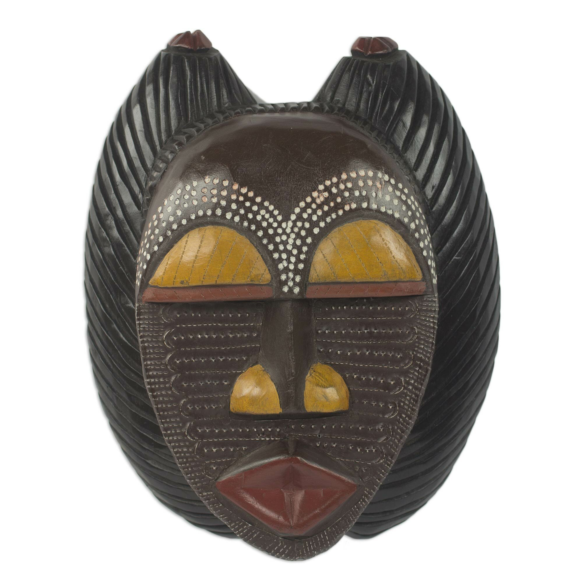 Wall Decoration With Masks : Novica rita addo zakour a good mother unique african wood
