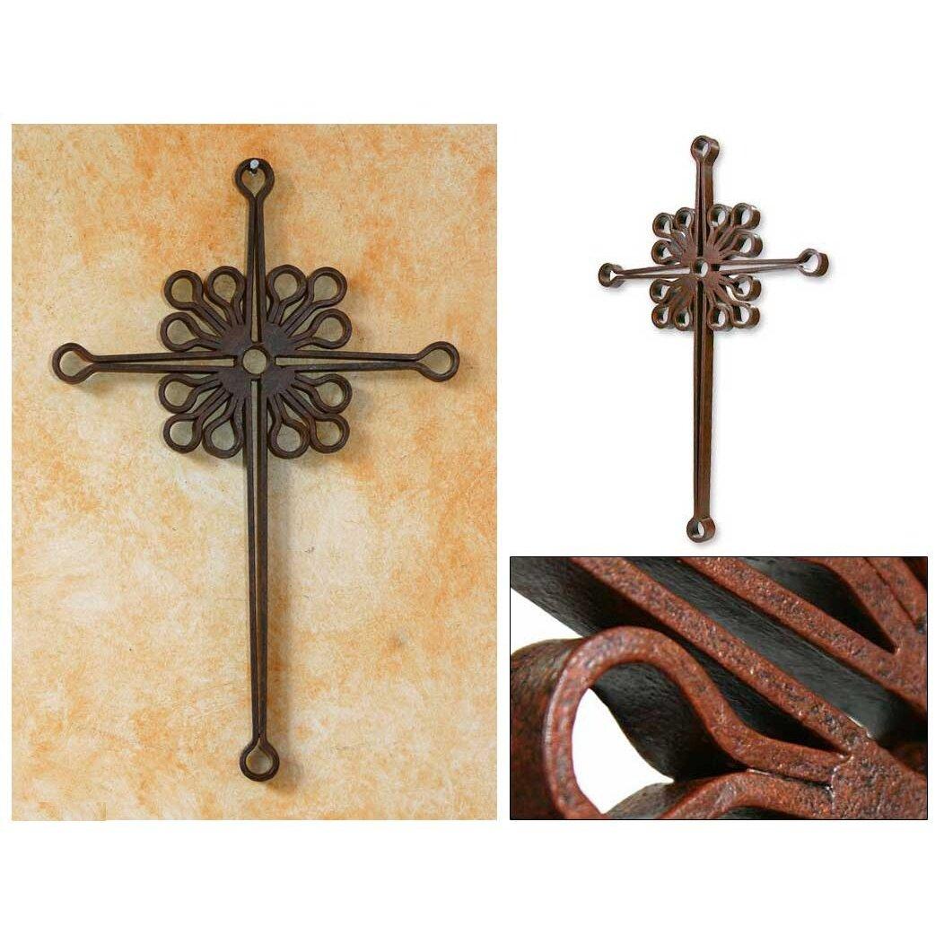 Novica Fair Trade Religious Metal Cross Wall Decor Wayfair