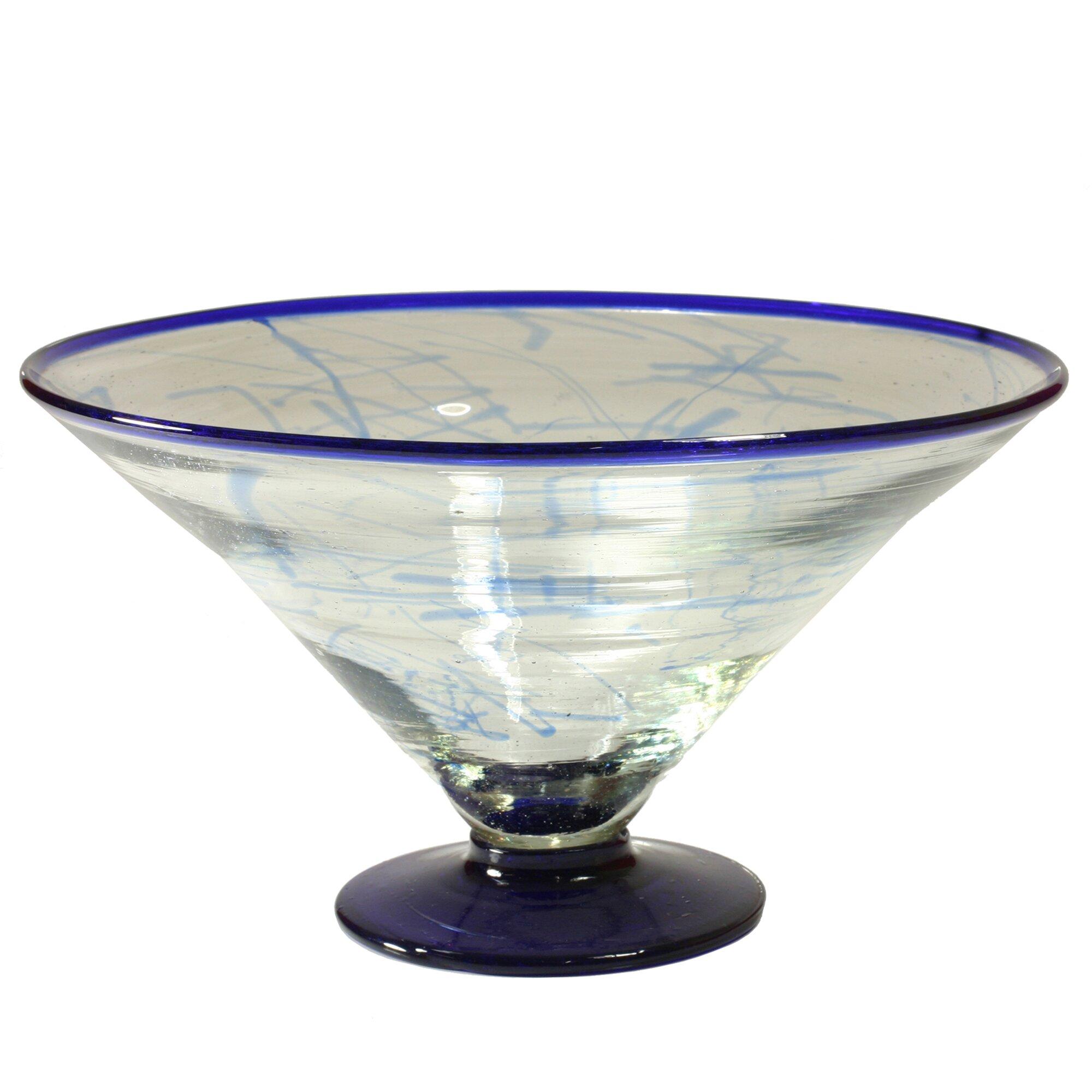 Novica cantel blown glass artisans decorative