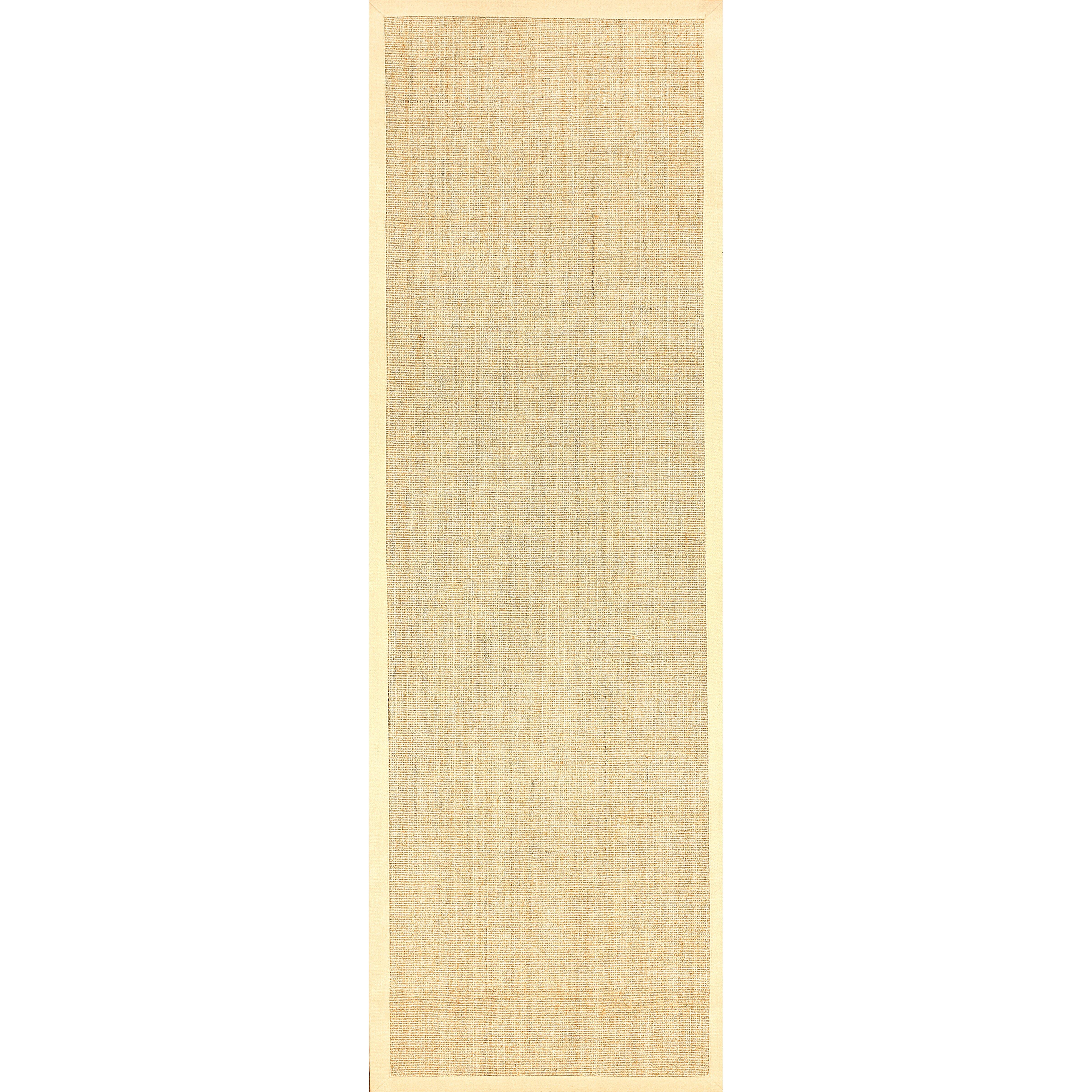 nuloom sisal sand beige border area rug reviews wayfair. Black Bedroom Furniture Sets. Home Design Ideas
