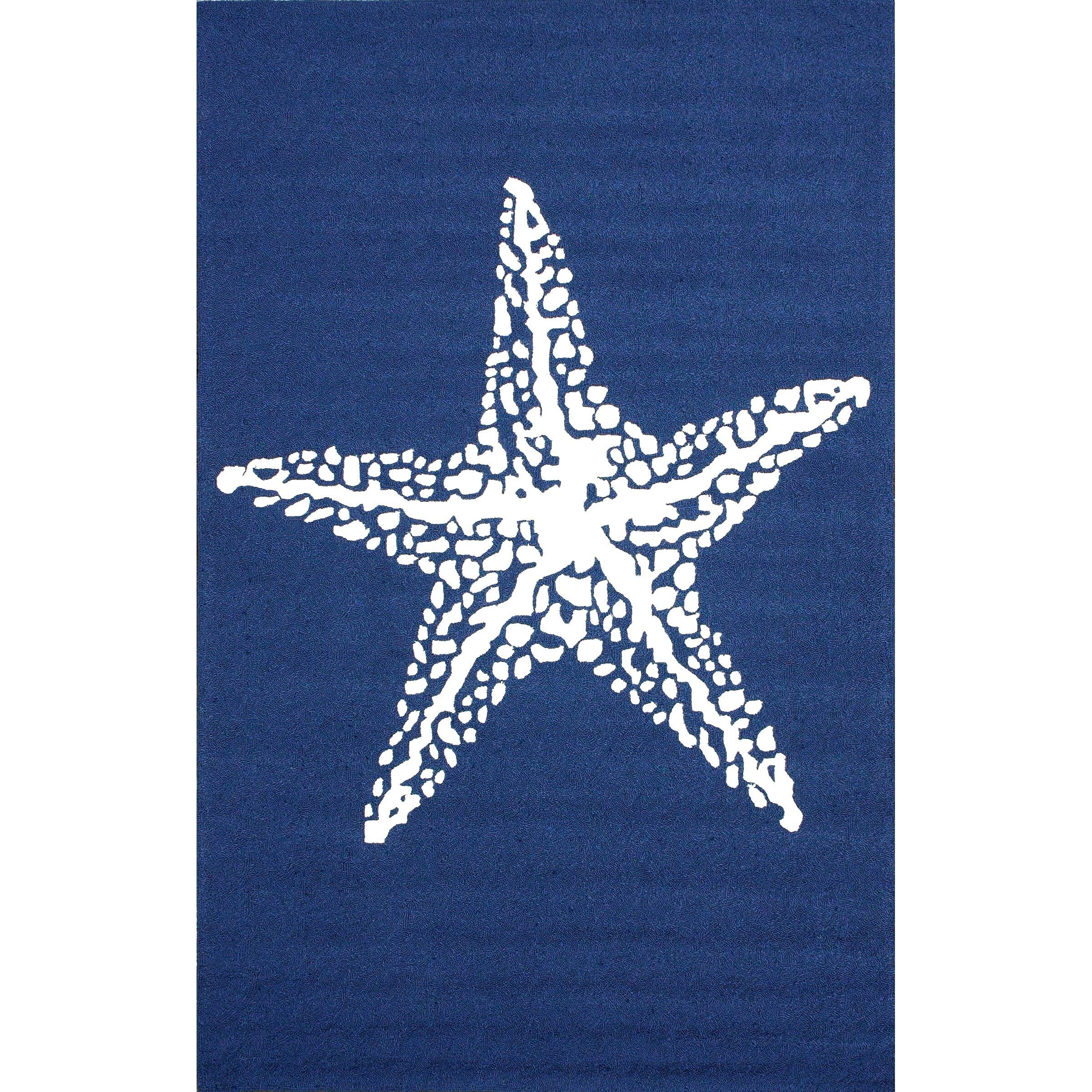 nuLOOM Layne Blue Marine Indoor Outdoor Area Rug & Reviews