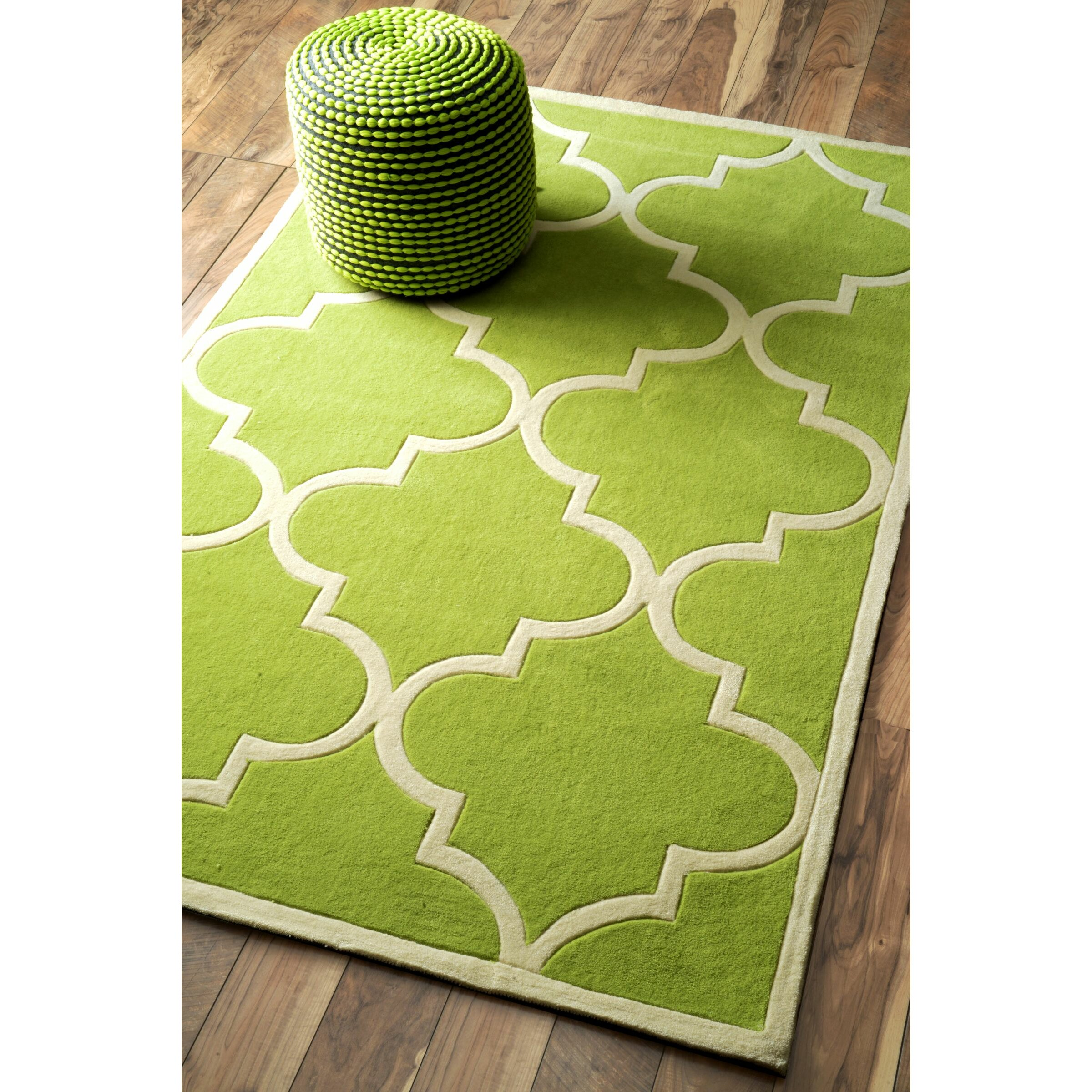 NuLOOM Trellis Green Area Rug & Reviews