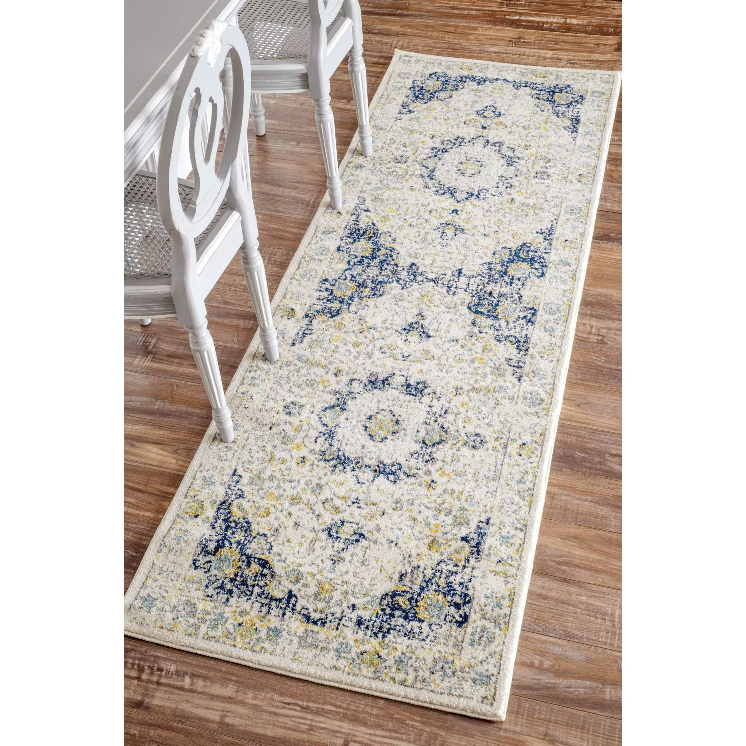 Rug Runner Rug: NuLOOM Verona Blue Area Rug & Reviews