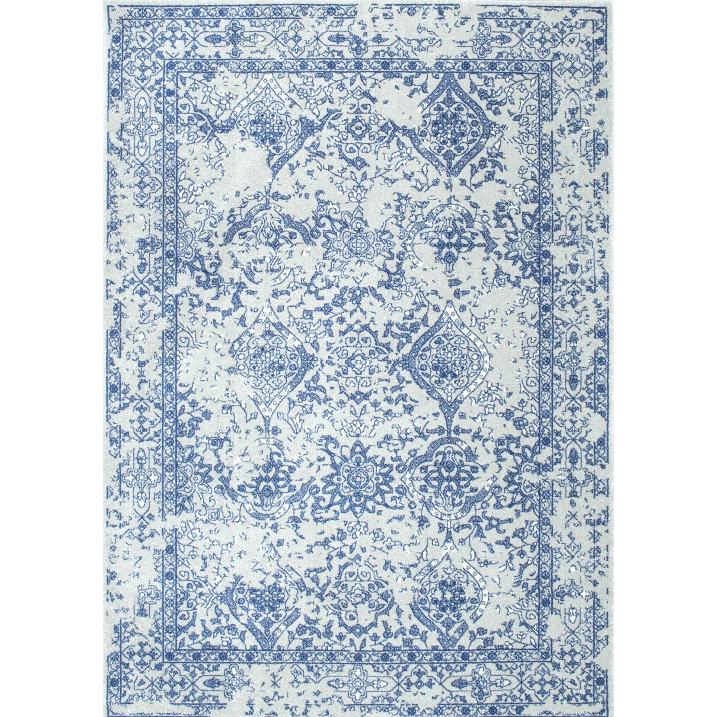 Nuloom Vintage Mabelle Light Blue Area Rug Amp Reviews Wayfair