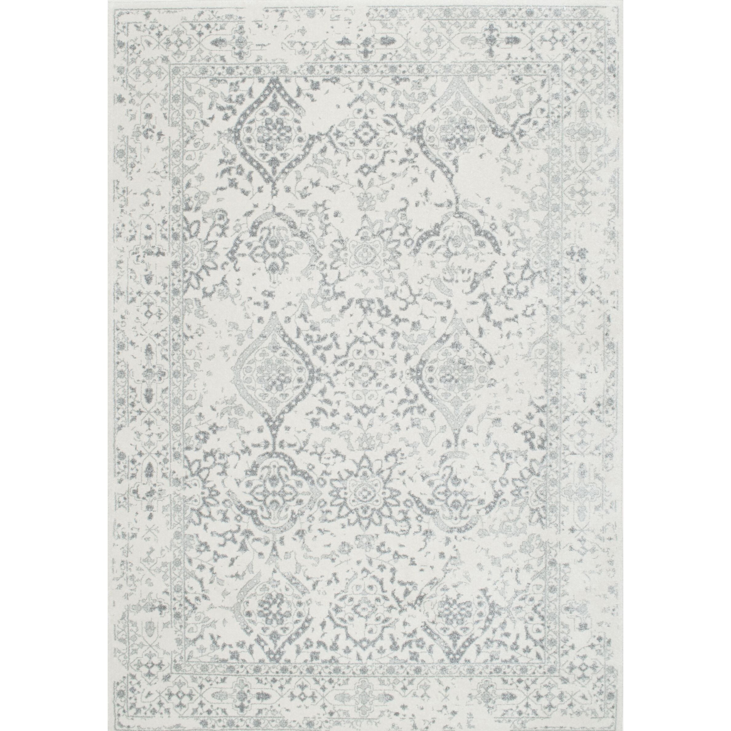 Nuloom vintage mabelle ivory grey area rug reviews wayfair for 15x15 living room