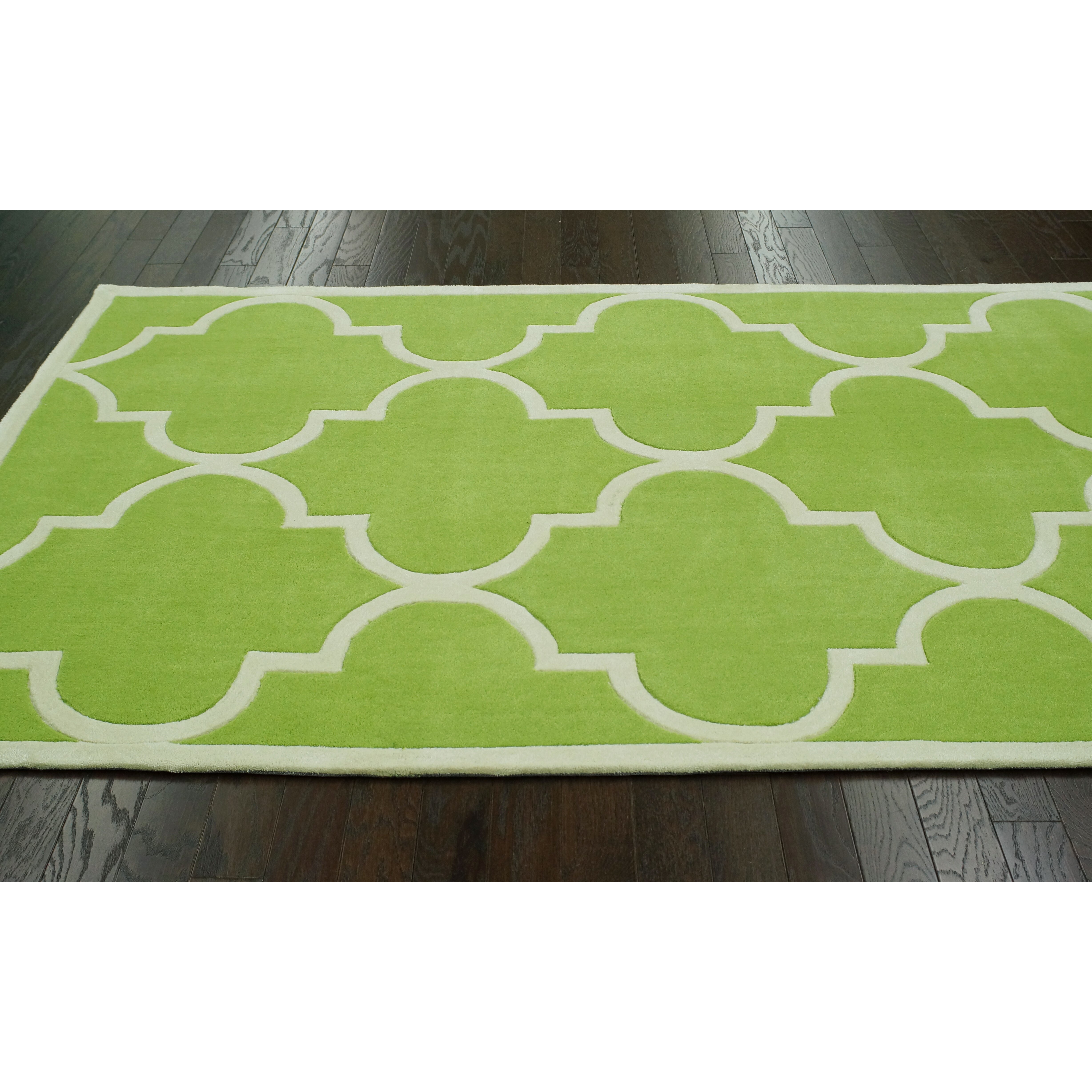 Lime Green Grey Area Rug: NuLOOM Trellis Green Area Rug & Reviews