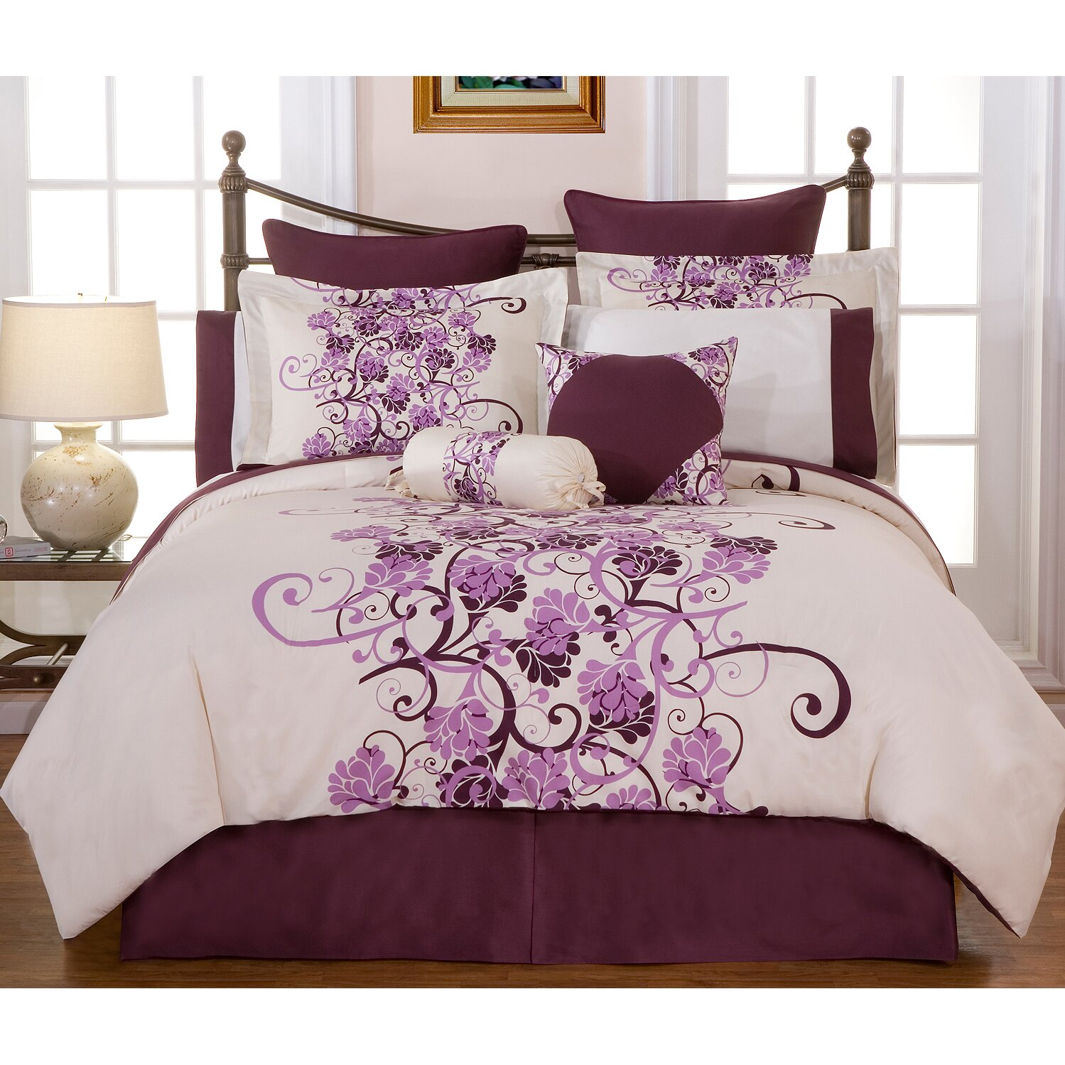 California King Bed In A Bag Overstock Com