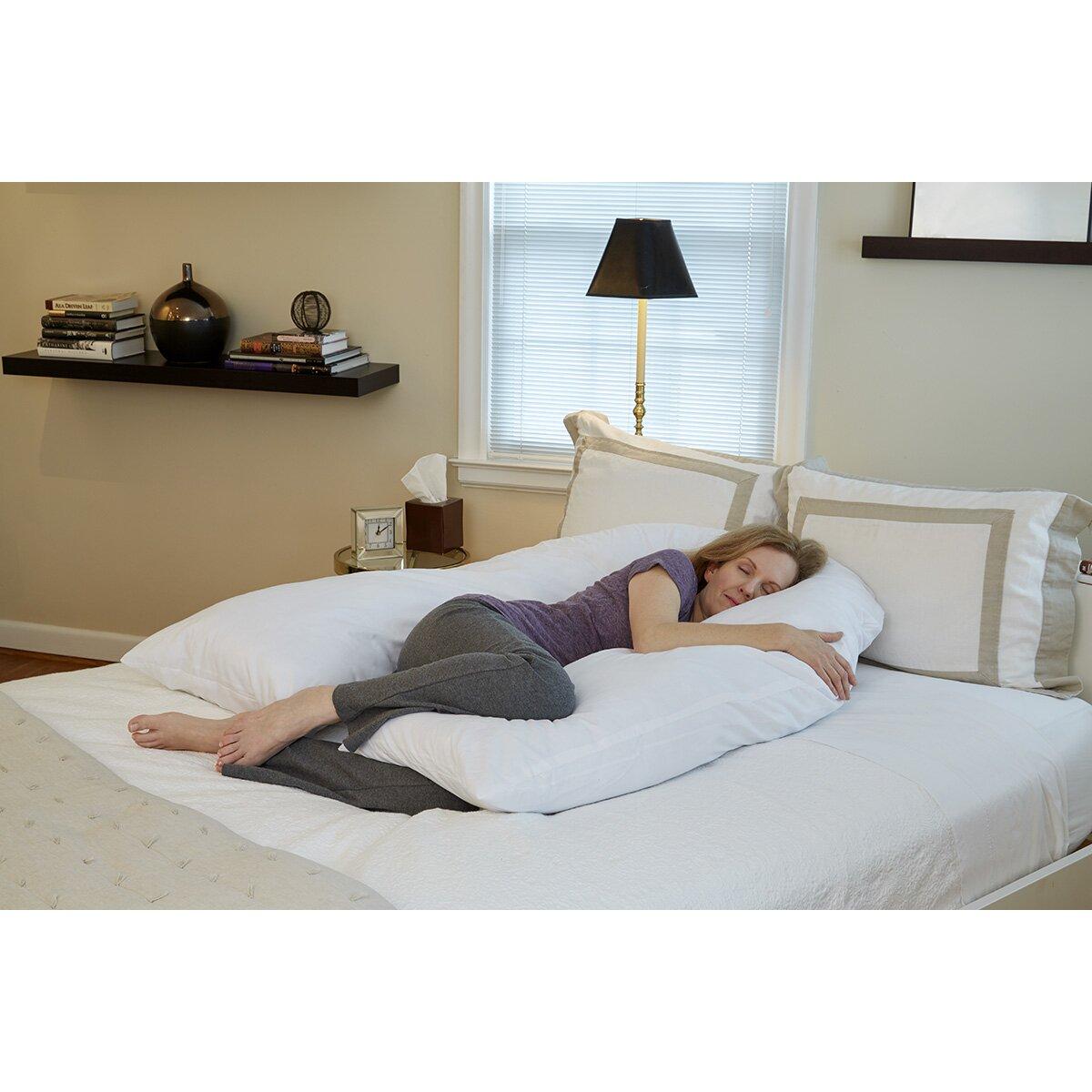 Hermell Softeze Total Body U-Shaped Pillow & Reviews   Wayfair
