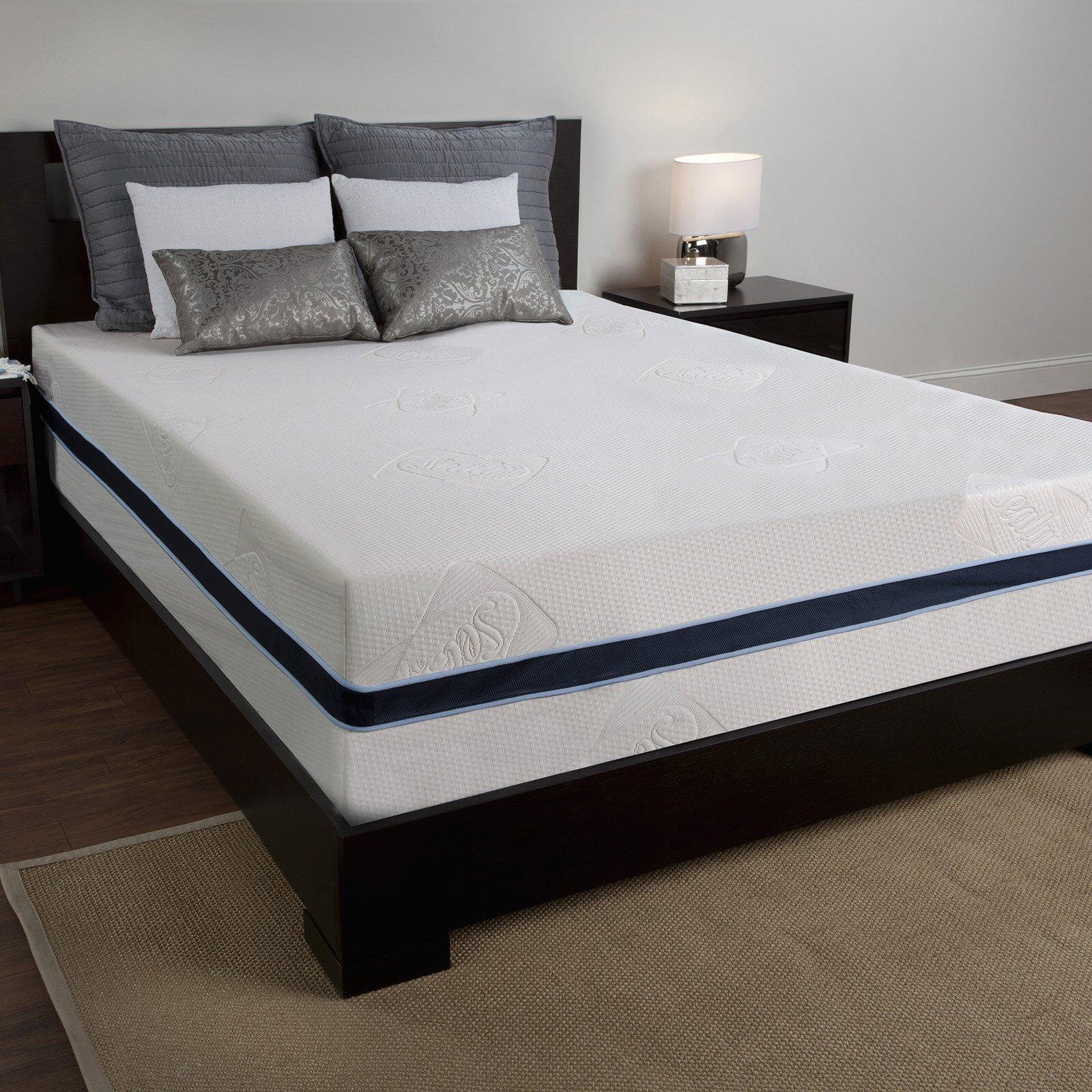 sealy memory foam mattress reviews
