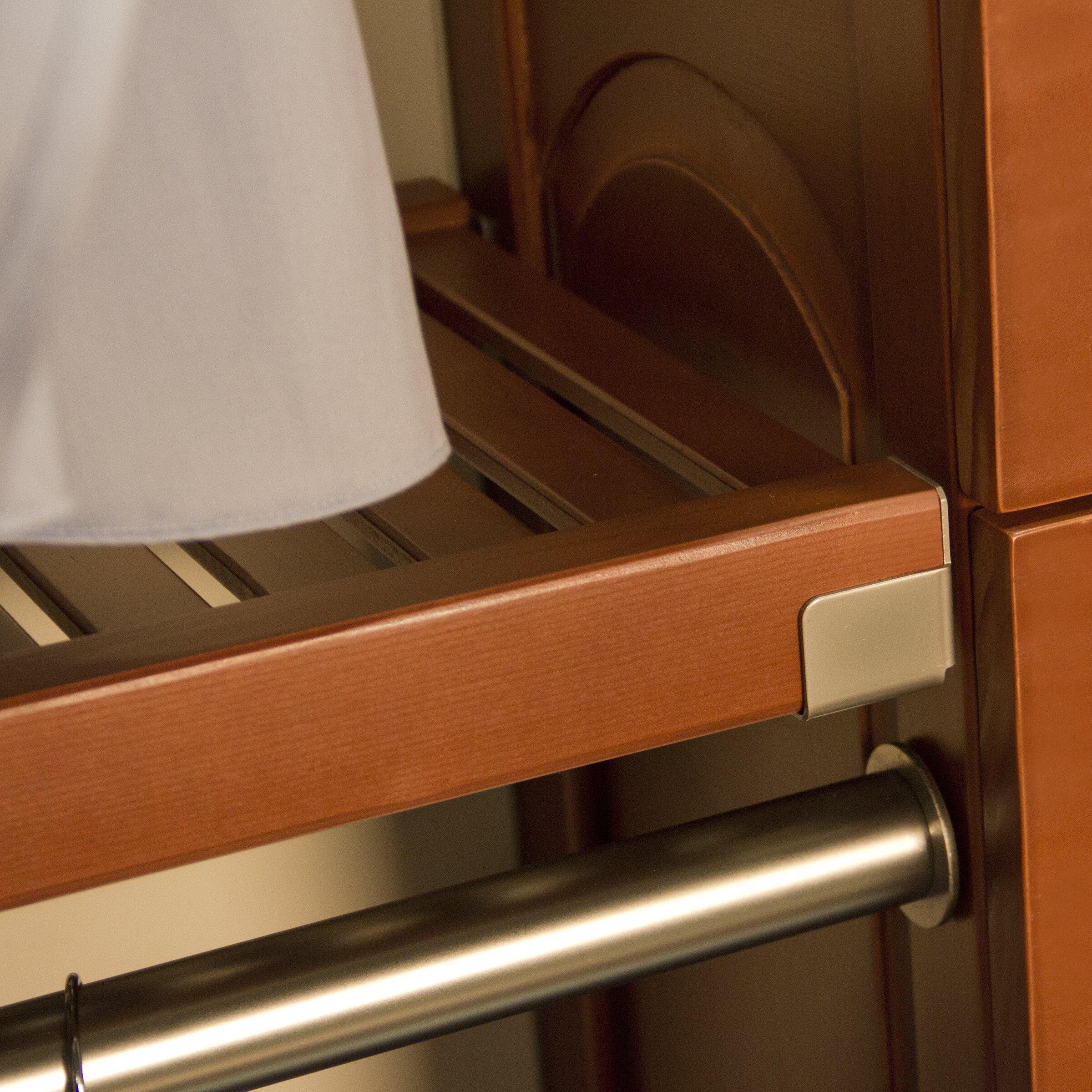 John Louis Home Woodcrest 120 Quot Wide Closet System