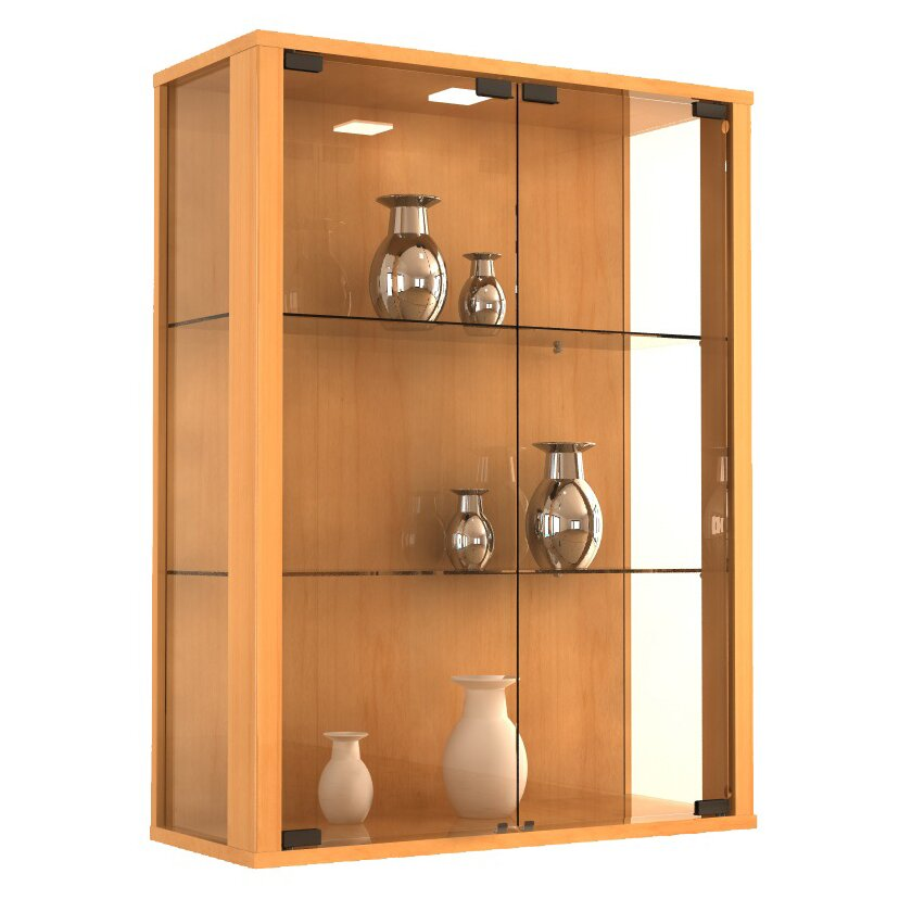 kitchen cabinets wall mounted vcm udina wall mounted display cabinet amp reviews wayfair uk 21354